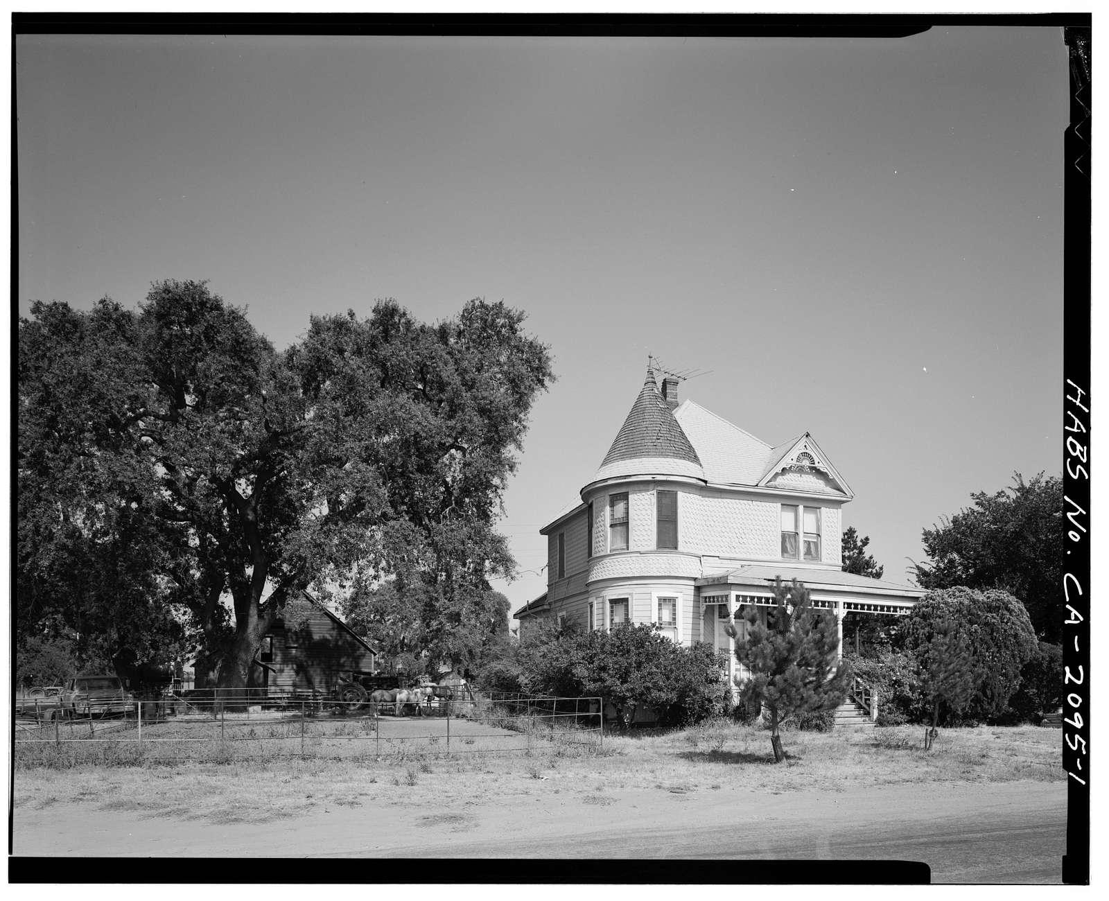 Hoenck House, 9480 Murray Avenue, Gilroy, Santa Clara County, CA
