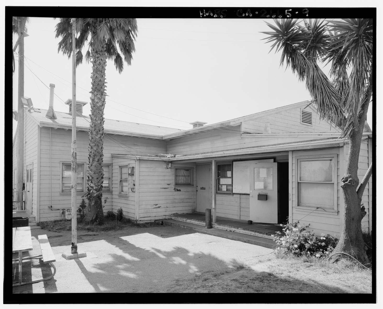 International Longshoremen's & Warehousemen's Union Hall, Naval Civil Engineering Laboratory, Port Hueneme Road, Port Hueneme, Ventura County, CA