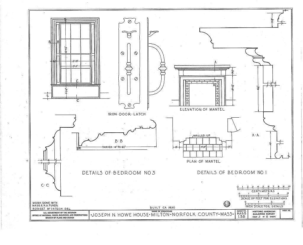 Joseph N. Howe House, 597 Randolph Avenue, Milton, Norfolk County, MA