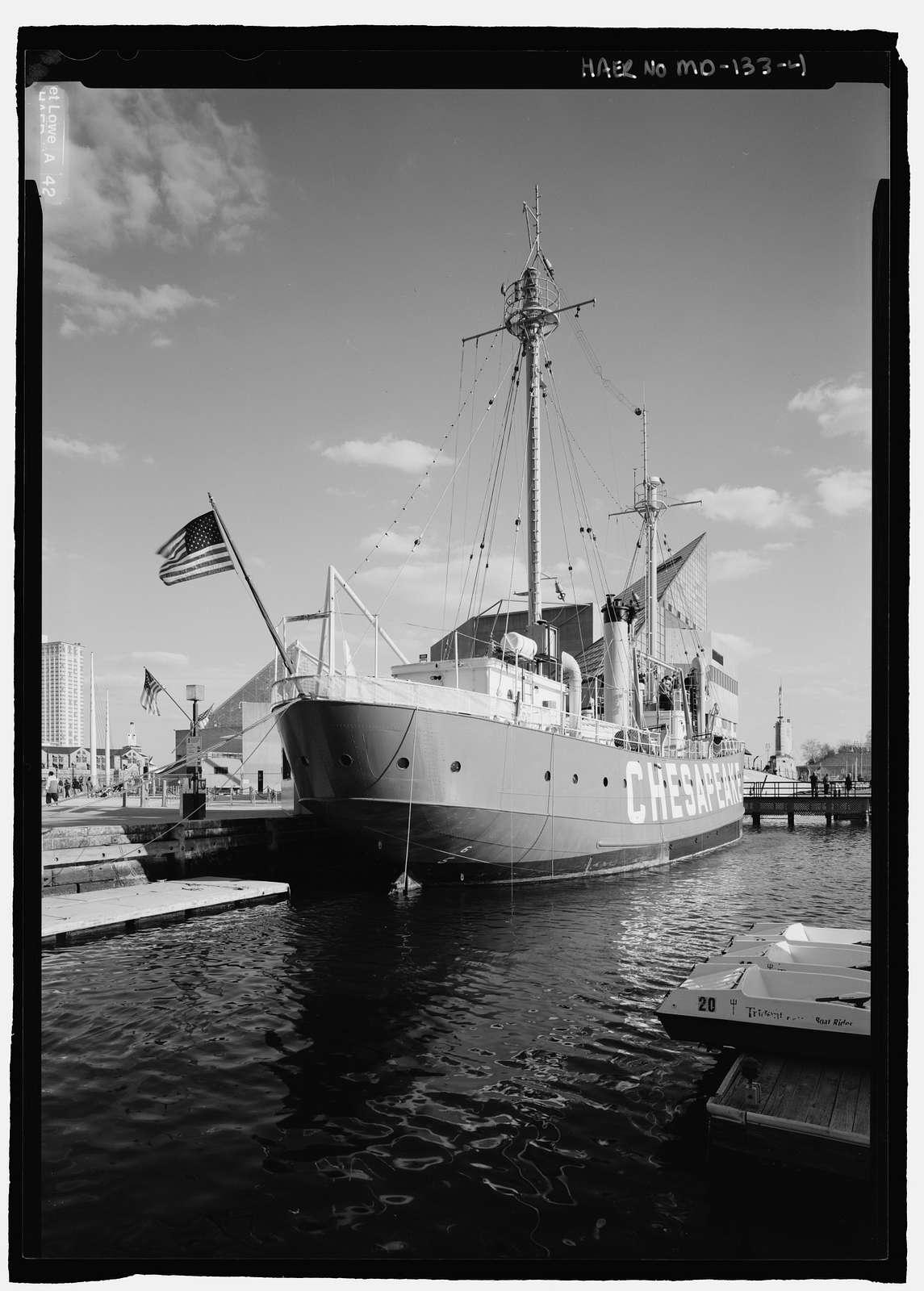 Lightship 116, Pier 3, Inner Harbor, Baltimore, Independent City, MD