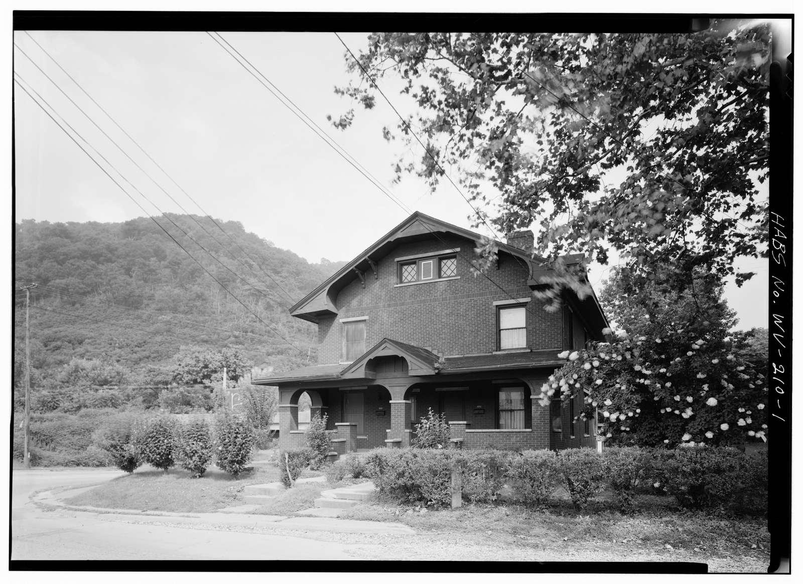 Malden Historic District, 4004 Malden Drive (House), Malden, Kanawha County, WV