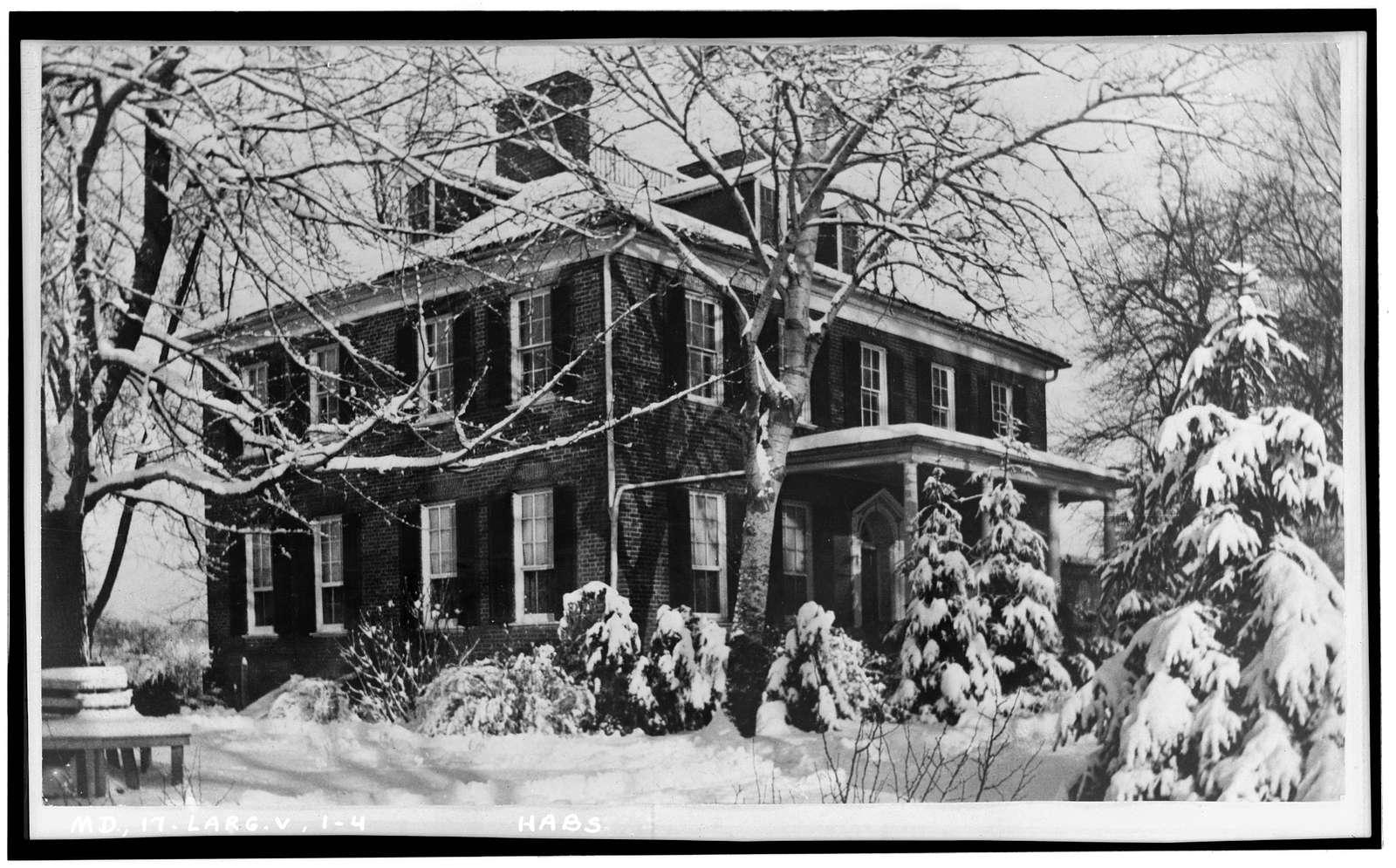 Mount Lubentia, 601 Largo Road, Largo, Prince George's County, MD