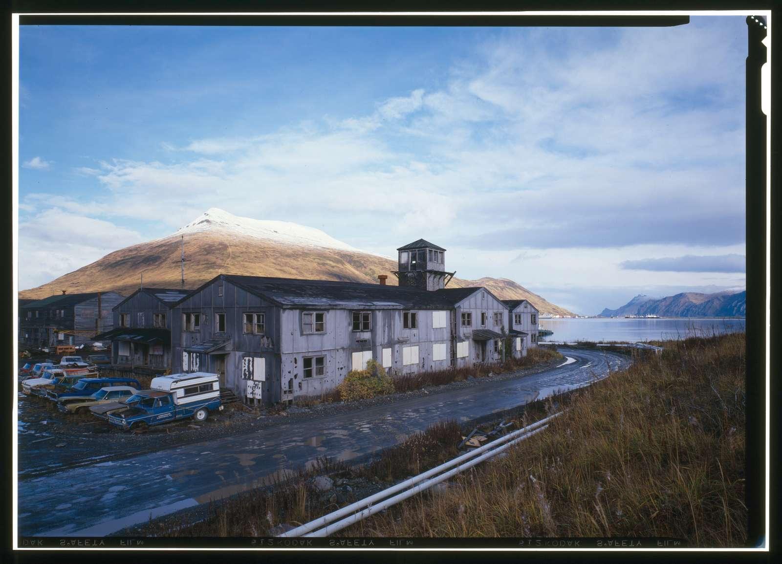 Naval Operating Base Dutch Harbor & Fort Mears, Administration Building, Unalaska, Aleutian Islands, AK