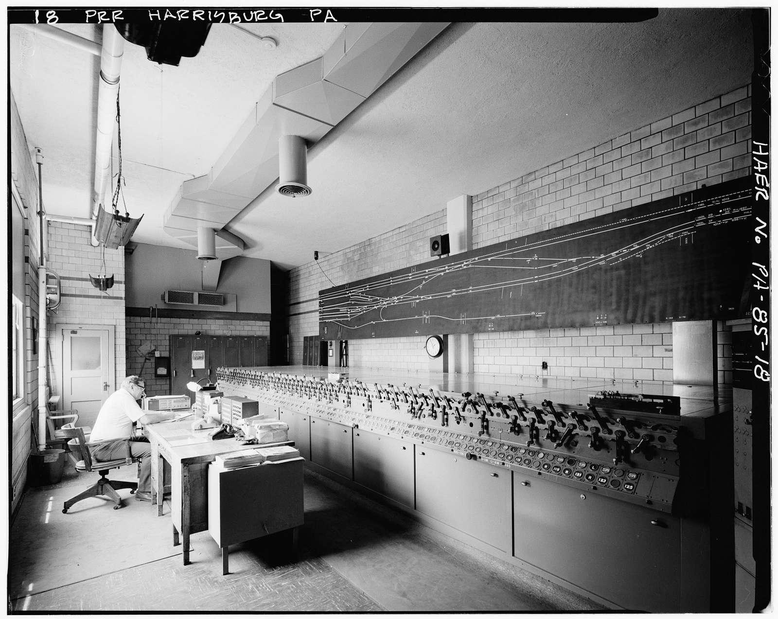 Pennsylvania Railroad, Harrisburg Station & Trainshed, Market & South Fourth Streets, Harrisburg, Dauphin County, PA