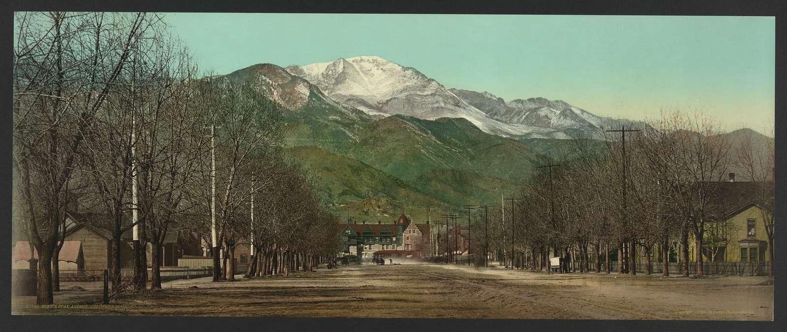 Pikes Peak Avenue, Colorado Springs