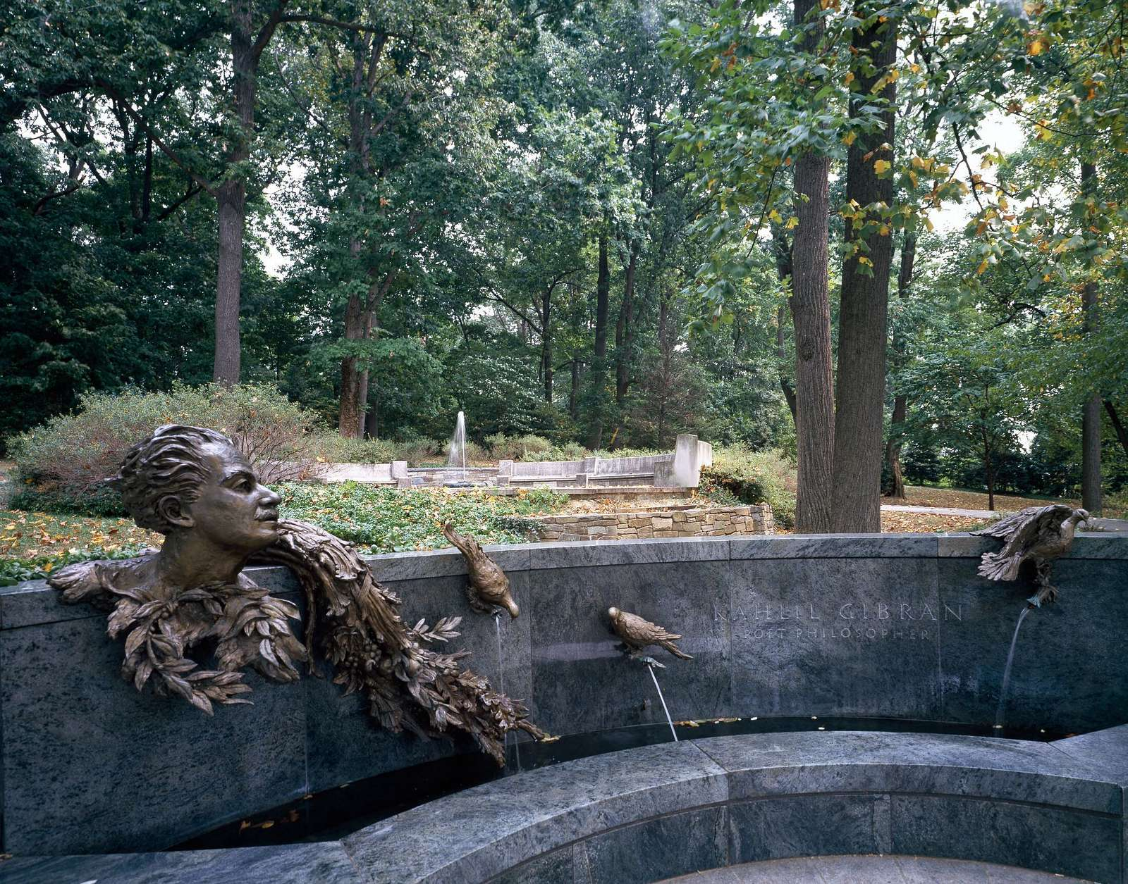 Poet Kahlil Gibran Memorial in Washington, D.C.