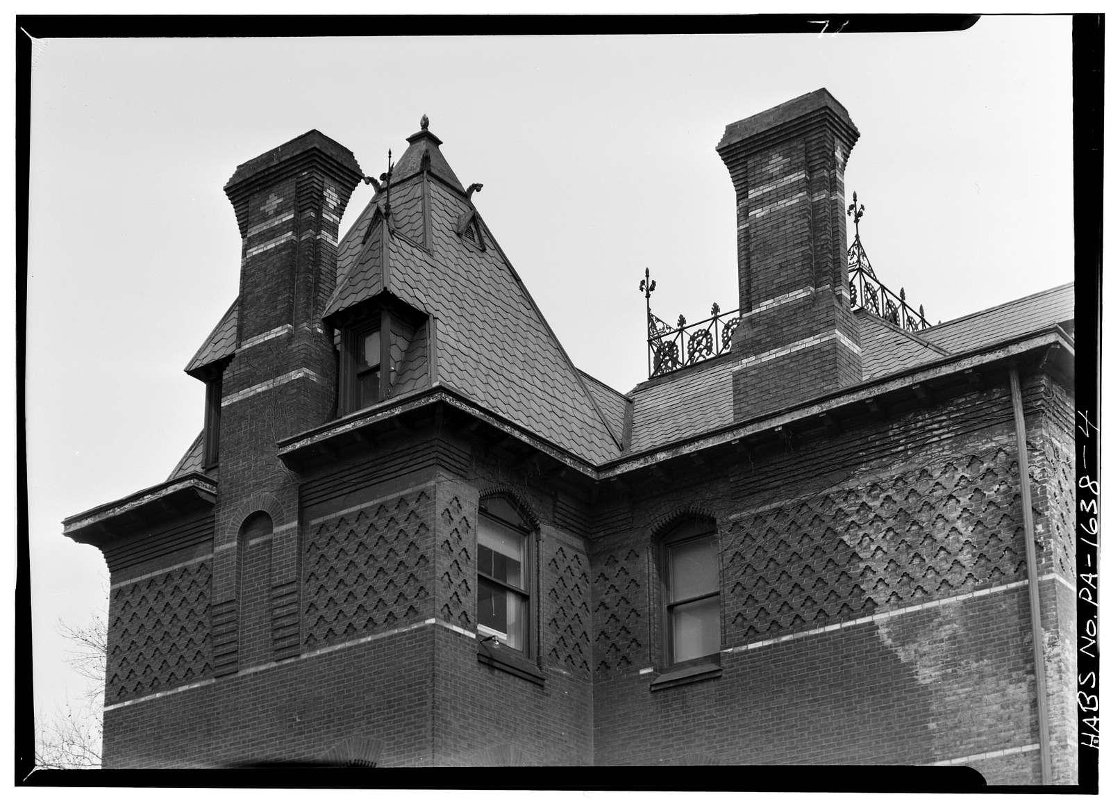 Potts House, 3905 Spruce Street, Philadelphia, Philadelphia County, PA