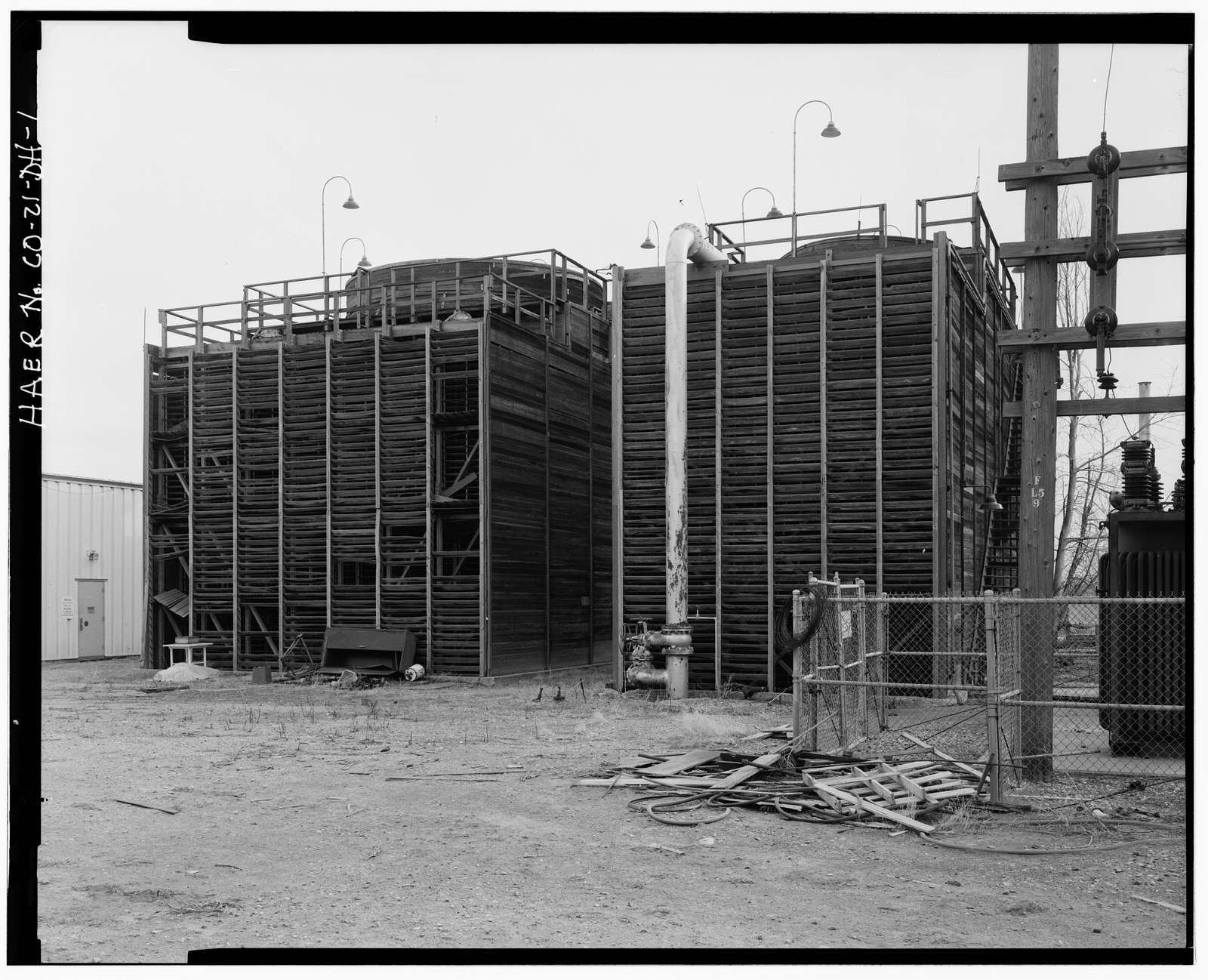 Rocky Mountain Arsenal, Cooling Tower, 3500 feet South of Ninth Avenue; 470 feet East of Road Northwest-4, Commerce City, Adams County, CO