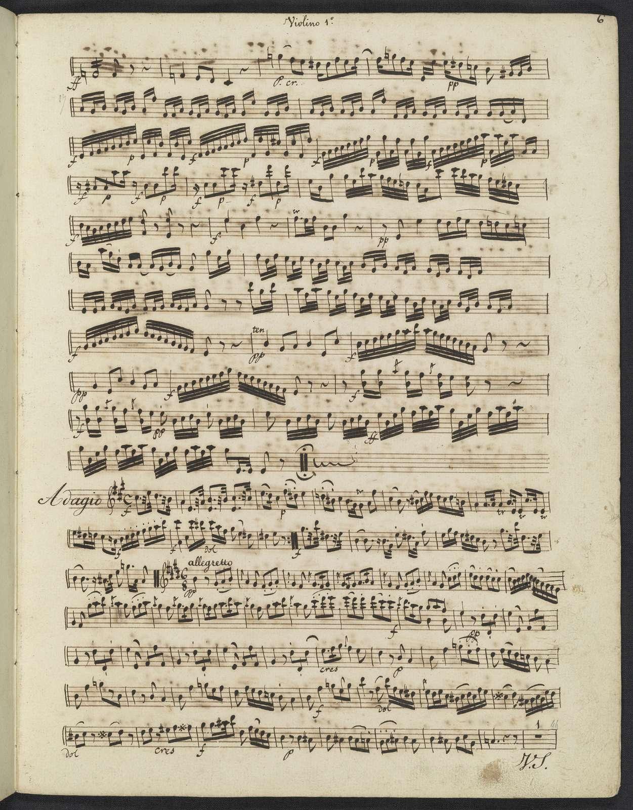 Six quintéti pour 2 violons, guitare, alto & basse