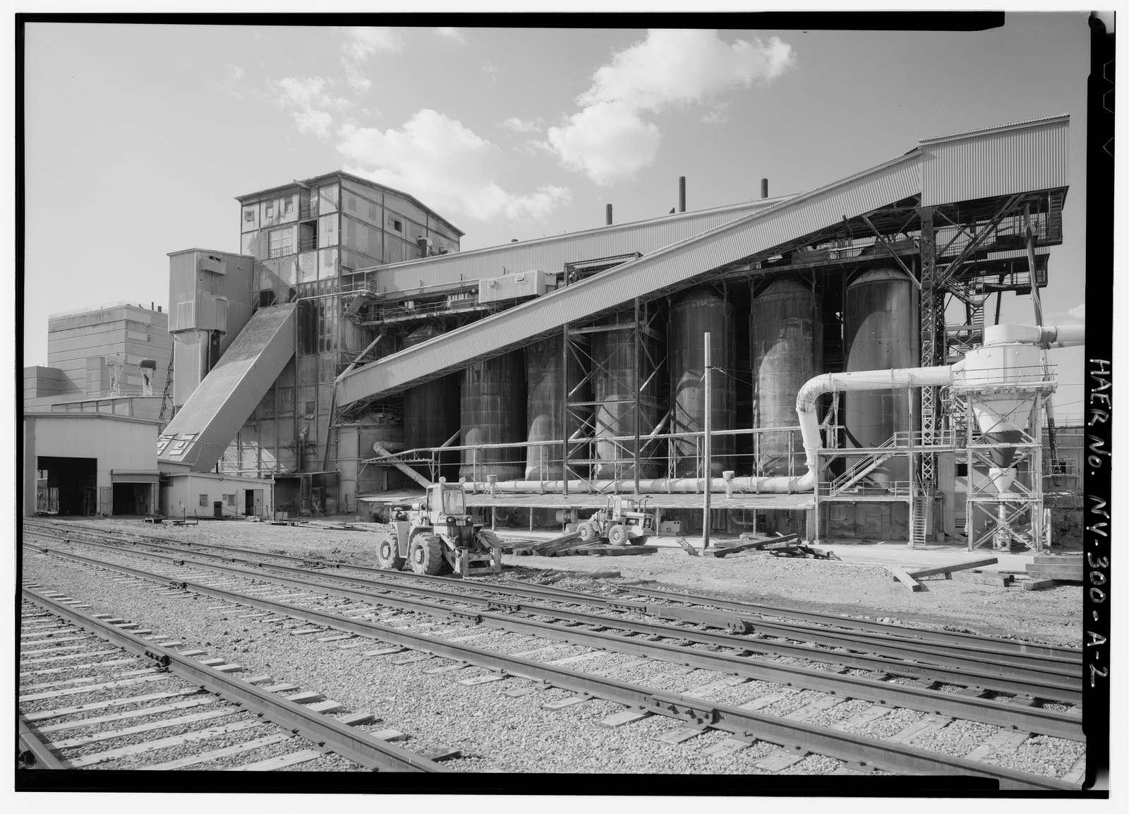 Solvay Process Company, Lime Kiln Building, Between Willis & Milton Avenues, Solvay, Onondaga County, NY