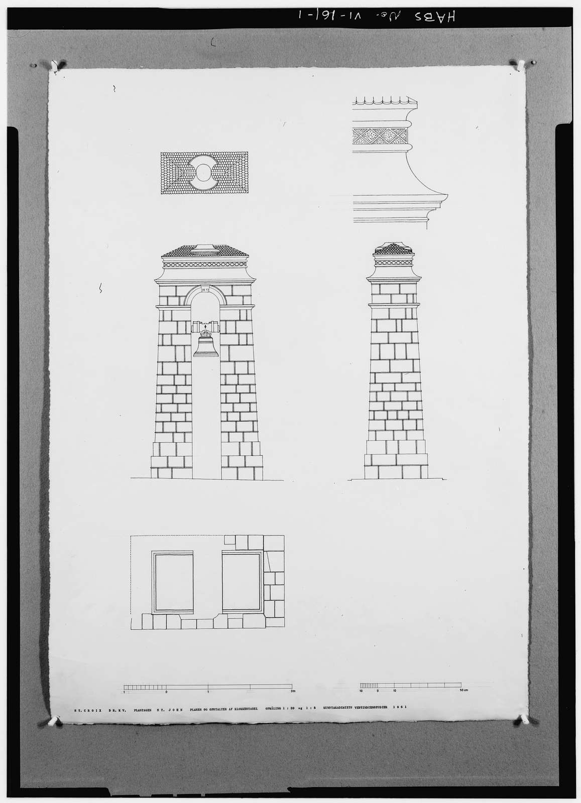 St. John, Bell Tower, Christiansted, St. Croix, VI