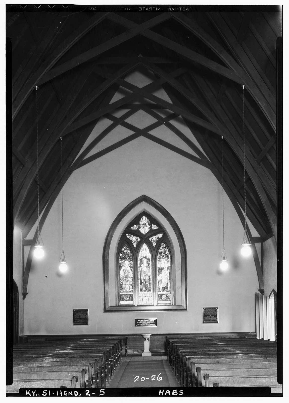 St. Paul's Episcopal Church, Third & Main Streets, Henderson, Henderson County, KY