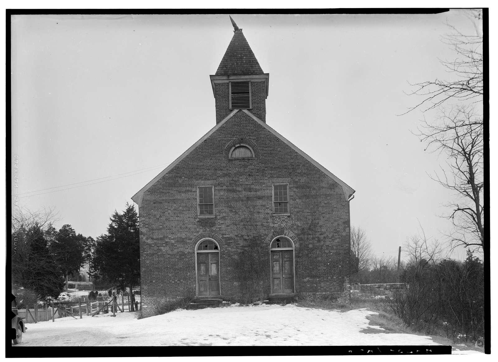 Union Church (Facade), Carter Street, Falmouth, Stafford County, VA
