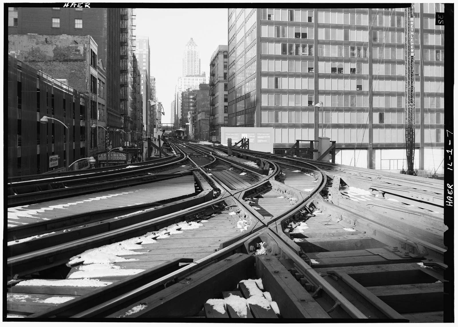 Union Elevated Railroad, Union Loop, Wells, Van Buren, Lake Streets & Wabash Avenue, Chicago, Cook County, IL