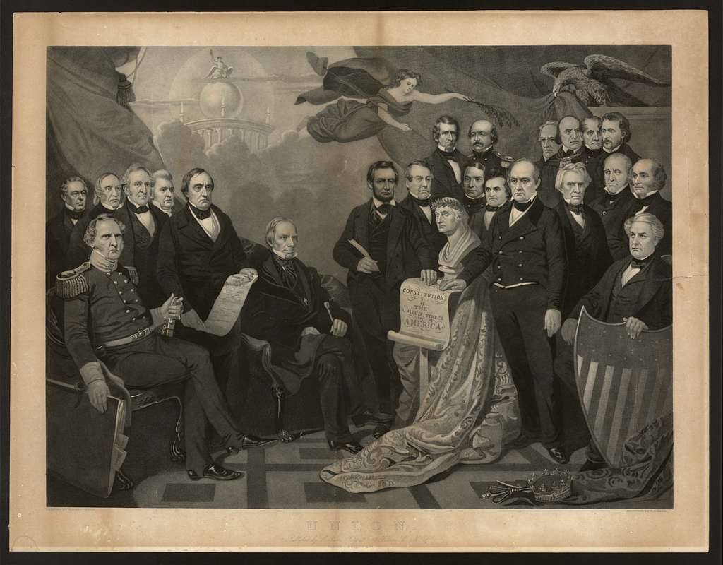 Union / painted by T.H. Matteson ; engraved by H.S. Sadd.