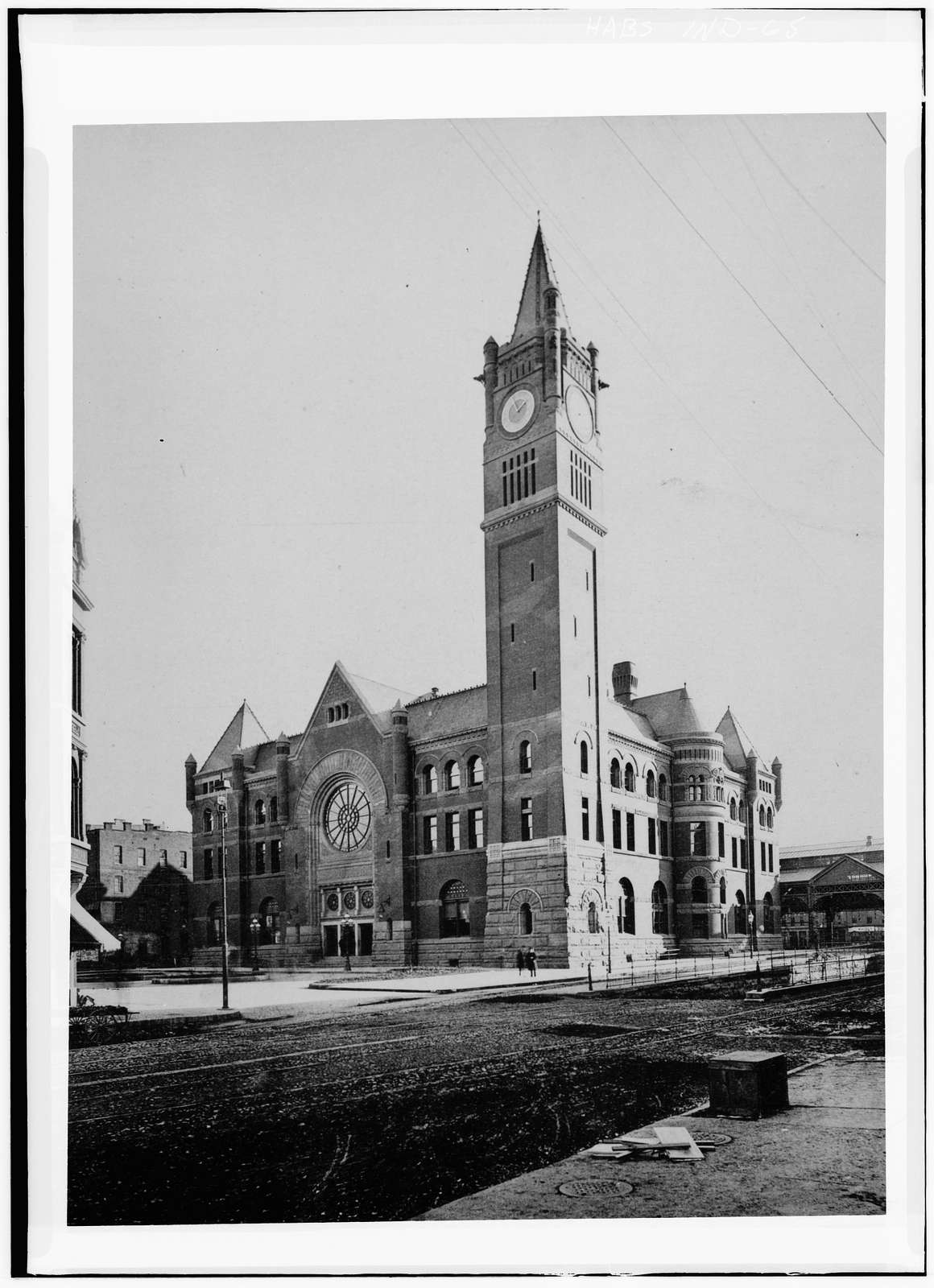 Union Station, Jackson Place & Illinois Street, Indianapolis, Marion County, IN