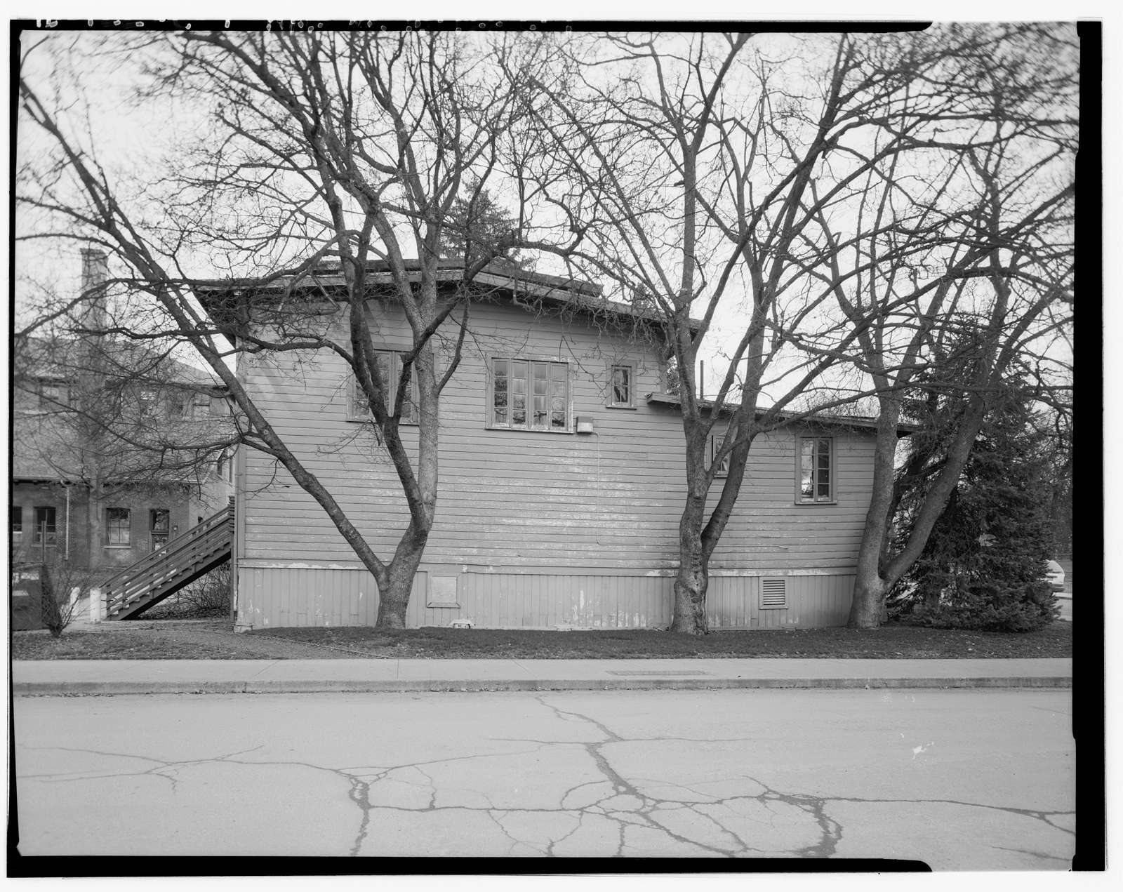 University of Idaho, YMCA Hut, Northeast corner of University Avenue & Line Street, Moscow, Latah County, ID