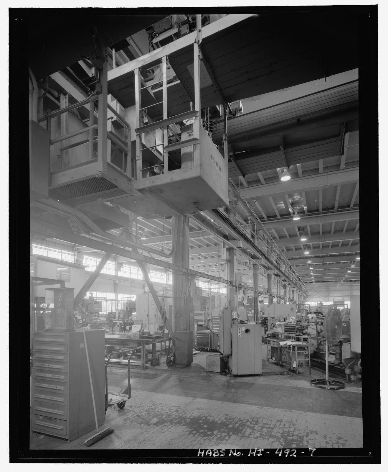 U.S. Naval Base, Pearl Harbor, Electric Shop, Sixth Street opposite 10-10 Pier, Pearl City, Honolulu County, HI