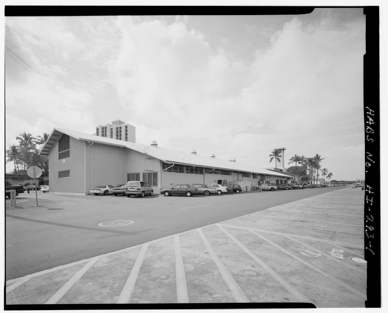 U.S. Naval Base, Pearl Harbor, Gymnasium Building, North Waterfront & Pierce Street near Berth S-13, Pearl City, Honolulu County, HI