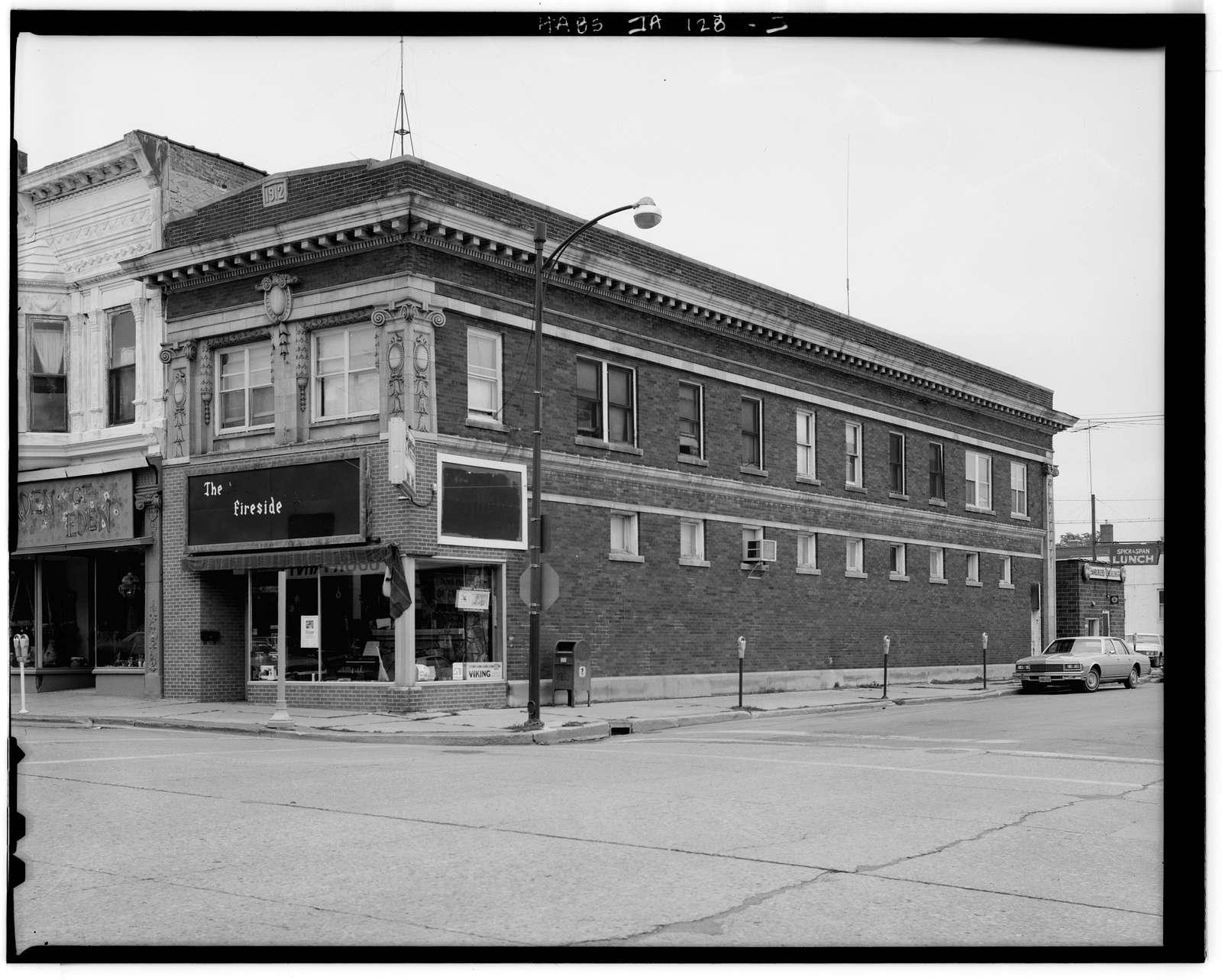 W. T. McFarlane Building, 123 South Federal Avenue, Mason City, Cerro Gordo County, IA