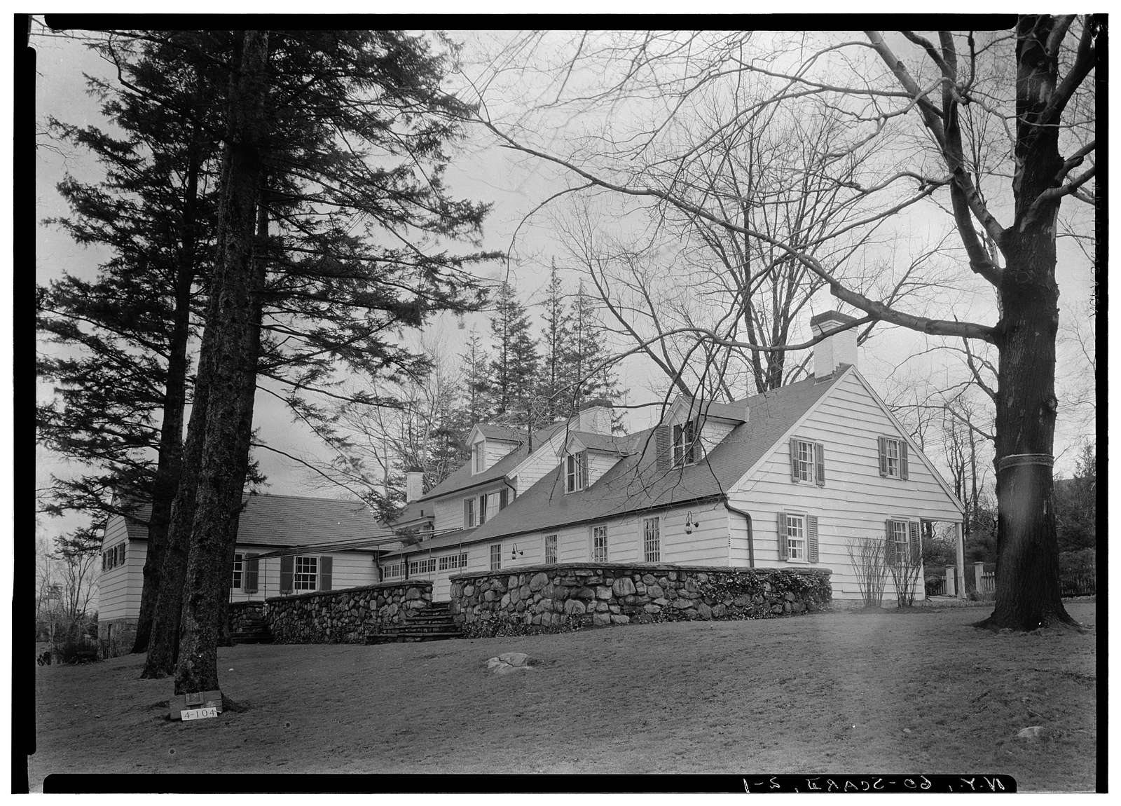 Wayside Inn, Post Road & Wayside Lane, Scarsdale, Westchester County, NY