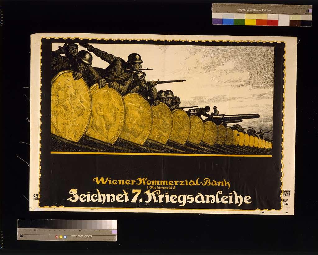 Zeichnet 7. Kriegsanleihe / Alfred Offner.