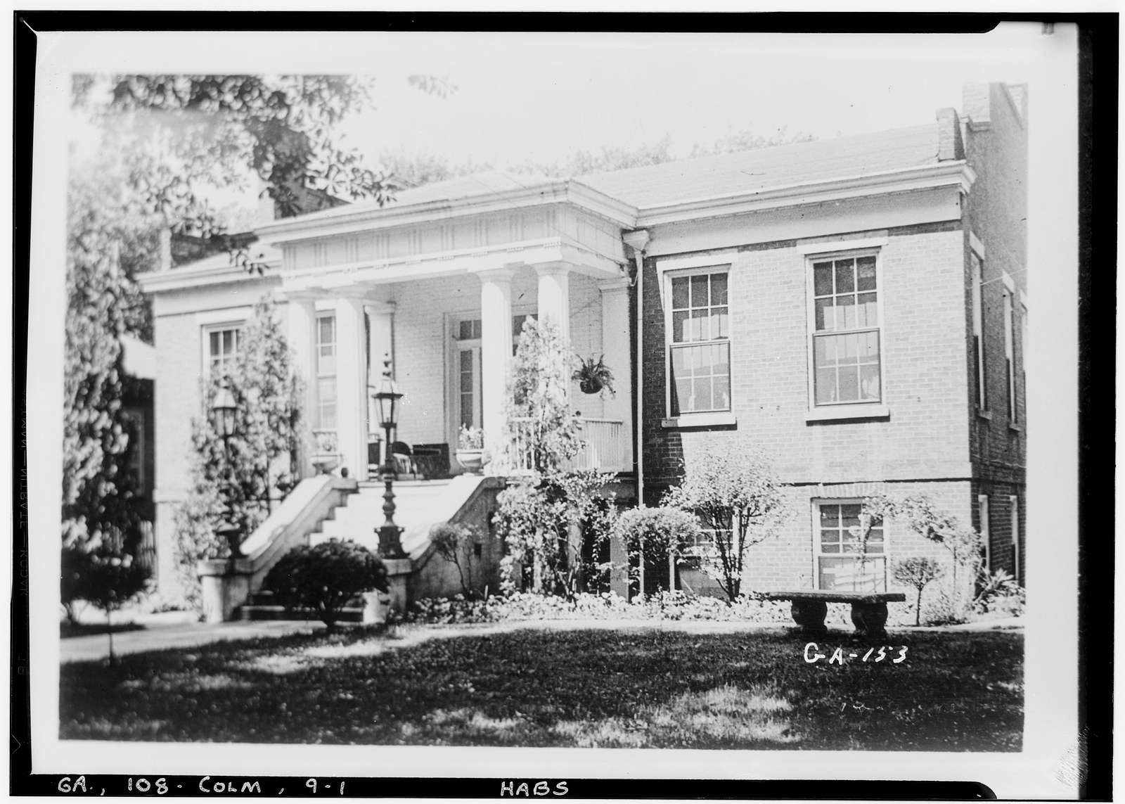Alexander-McGehee-Woodall House, 1543 Second Avenue, Columbus, Muscogee County, GA