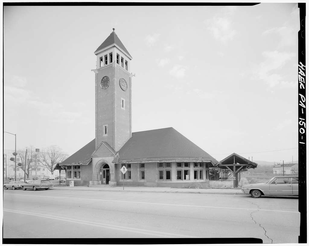 Central Railroad of New Jersey, Allentown Station, Race & Hamilton Streets, Allentown, Lehigh County, PA