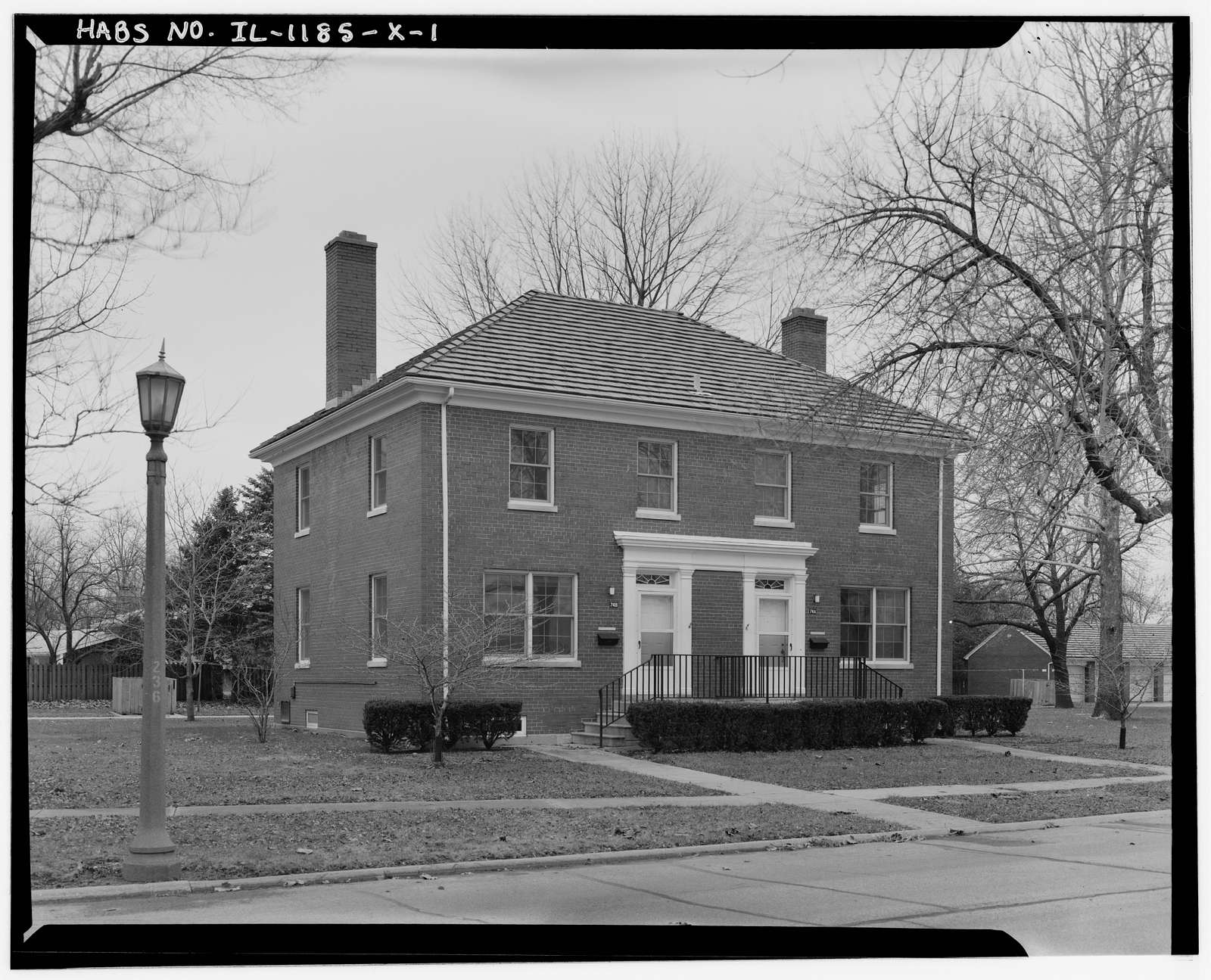 Chanute Air Force Base, Non-Commissioned Officer Housing, Curtiss Street, Rantoul, Champaign County, IL