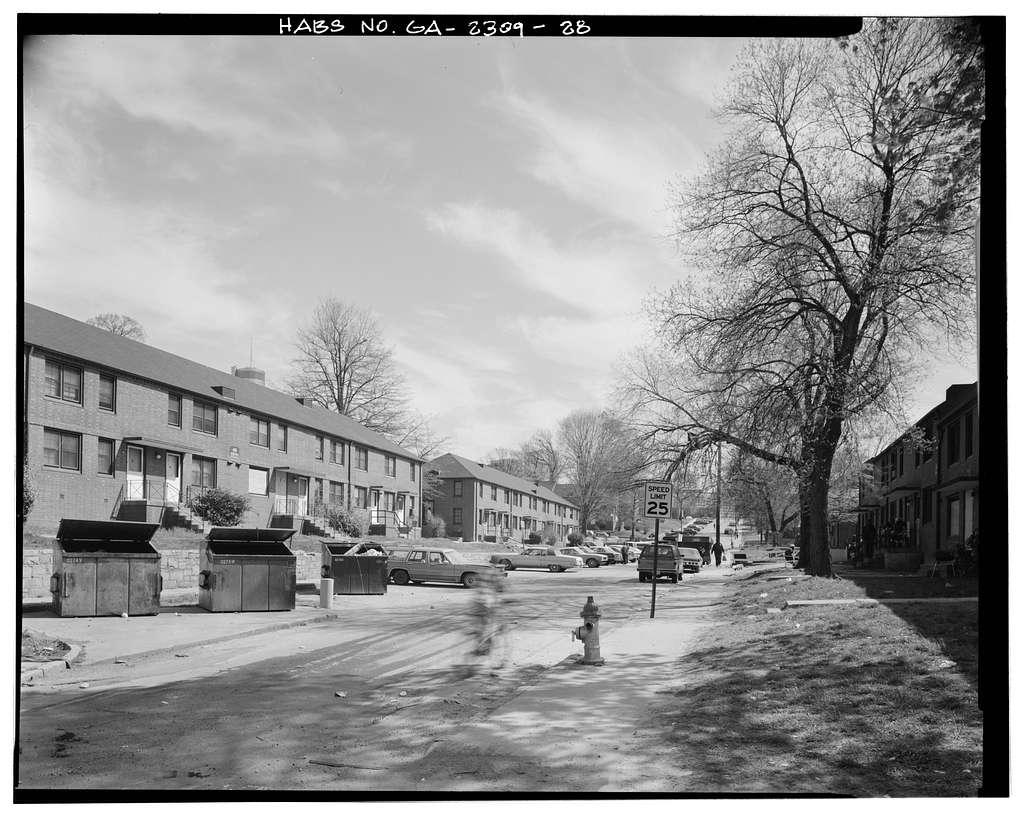 Clark Howell Homes (Public Housing), Bounded by North Avenue, Lovejoy Street, Mills Street & Luckie Street, Atlanta, Fulton County, GA
