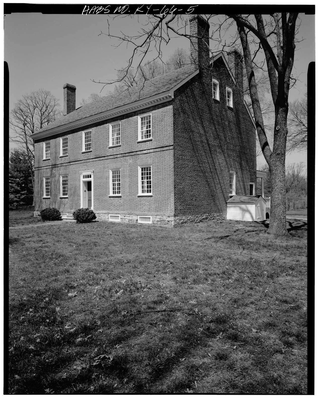Croghan House, 561 Blankenbaker Lane, Louisville, Jefferson County, KY