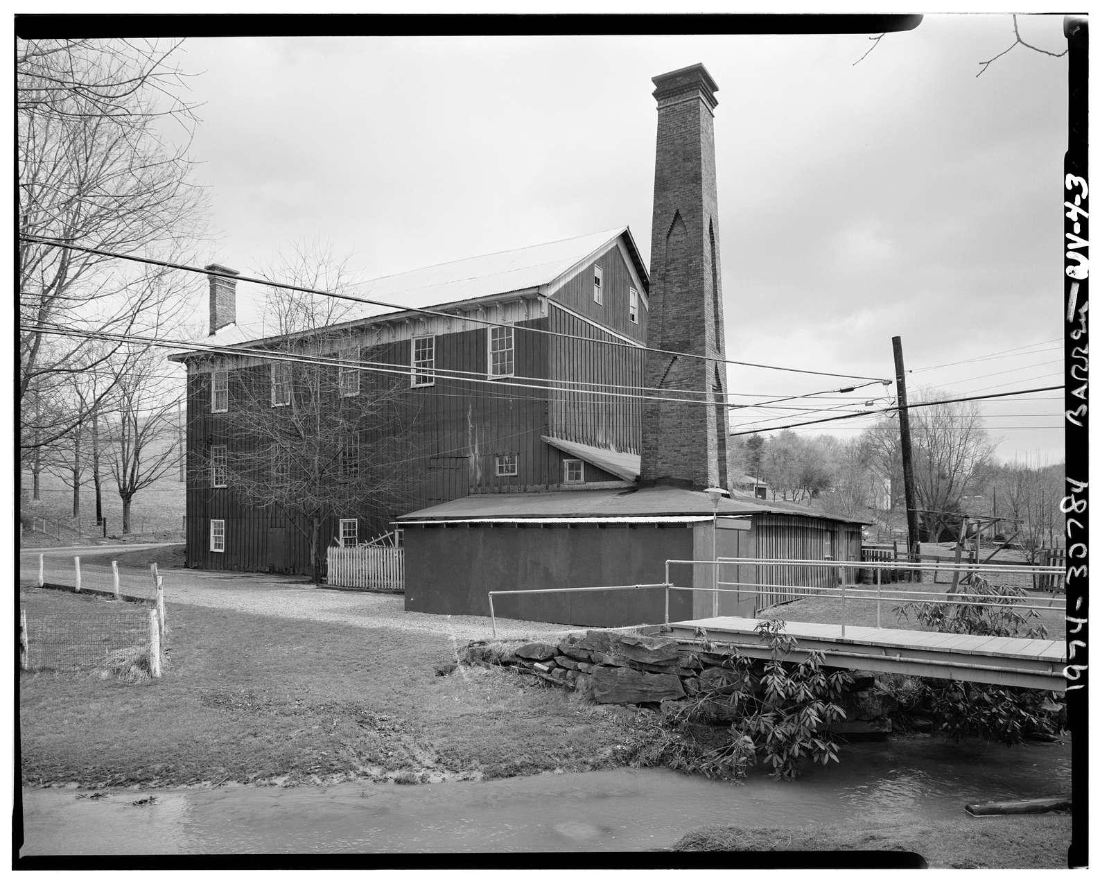 Easton Roller Mill, West Run Road, Morgantown, Monongalia County, WV