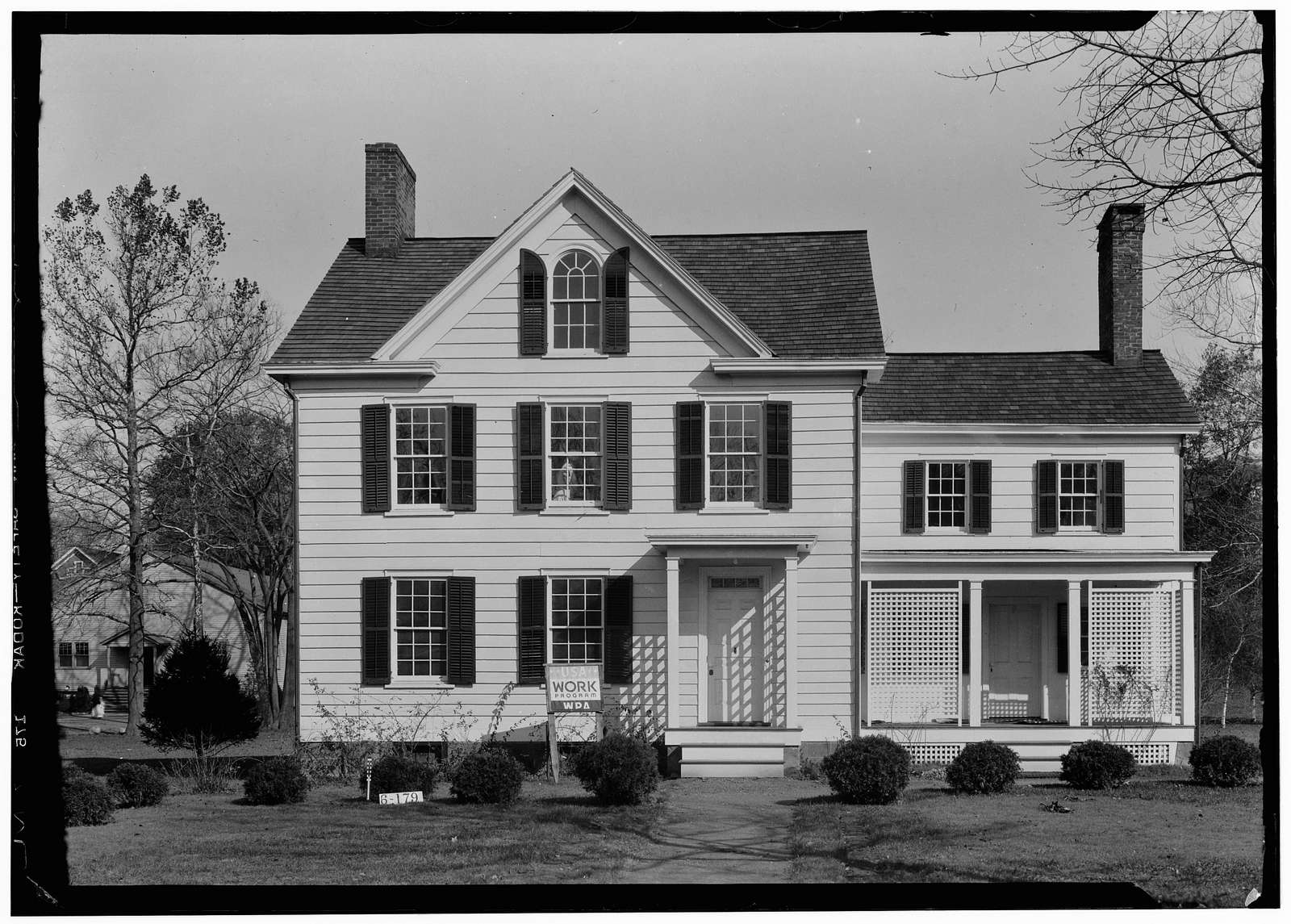 Grover Cleveland Birthplace, 207 Bloomfield Avenue, Caldwell, Essex County, NJ
