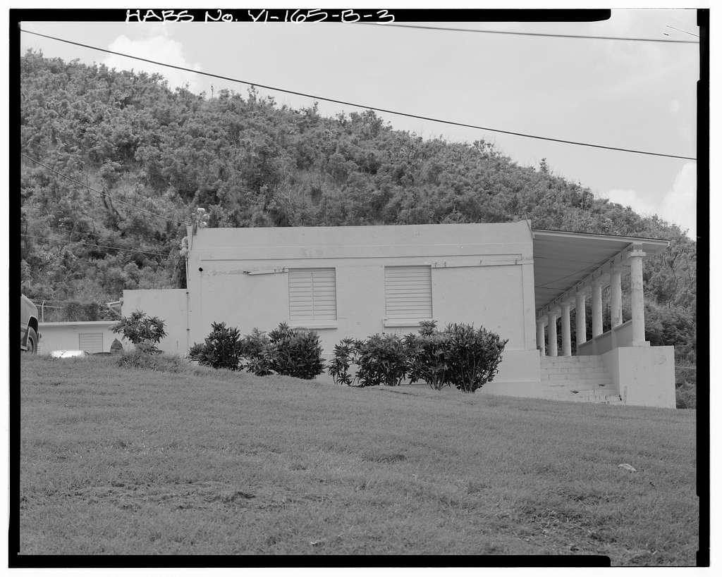 Ham's Bluff Lighthouse, Assistant Keeper's Quarters, Maroon Ridge of Ham's Bluff, North Star, St. Croix, VI