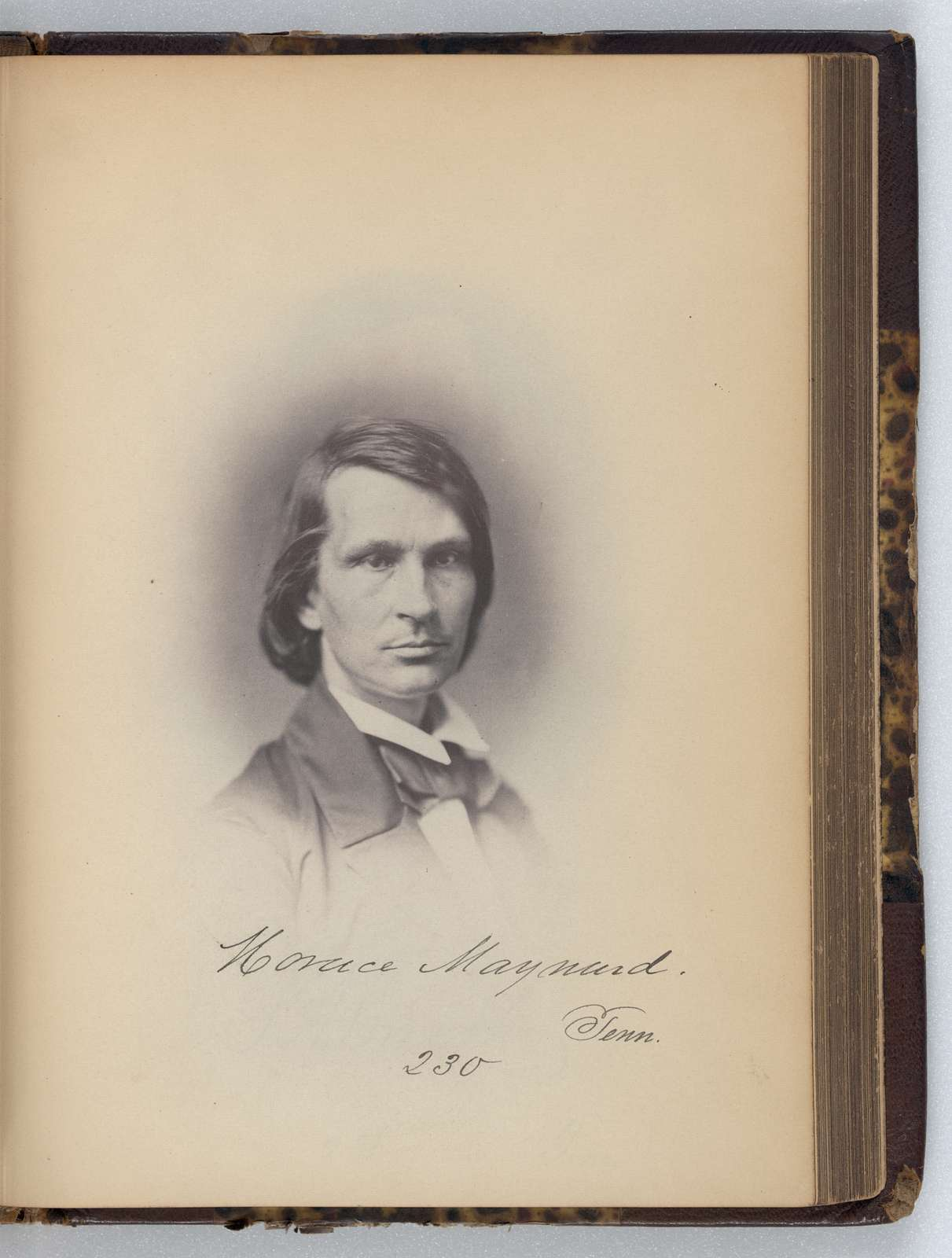 [Horace Maynard, Representative from Tennessee, Thirty-fifth Congress, half-length portrait]