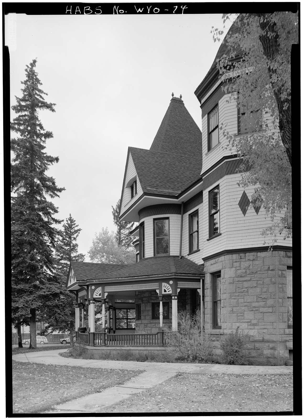 Ivinson Mansion, 603 Ivinson Avenue, Laramie, Albany County, WY