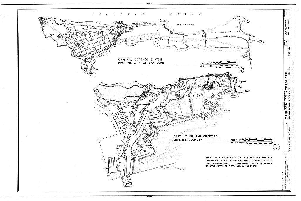 La Trinidad Counterguard, San Juan, San Juan Municipio, PR