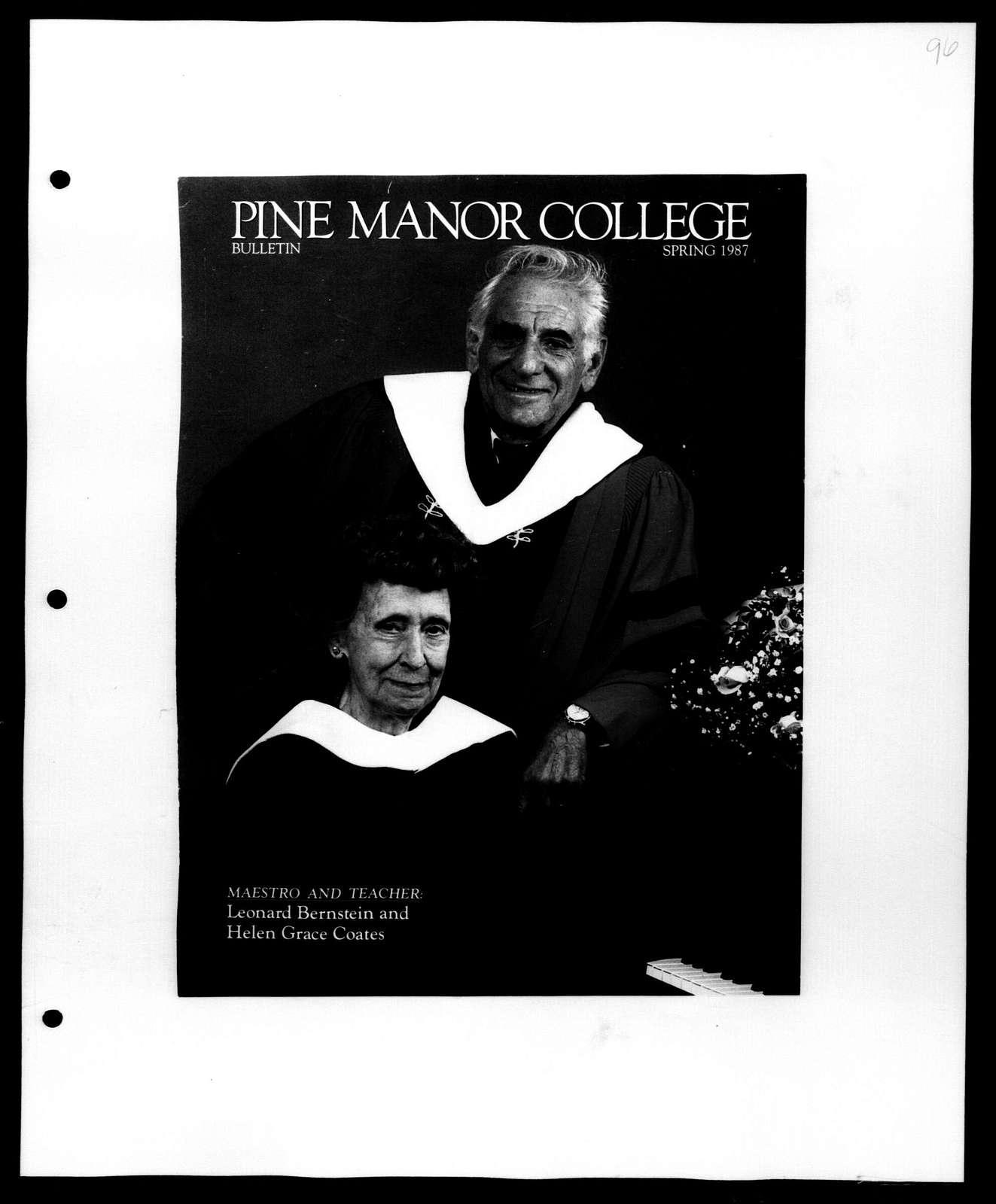 Leonard Bernstein Scrapbook: Vol. 118. Oct. 19, 1986-April 1, 1987