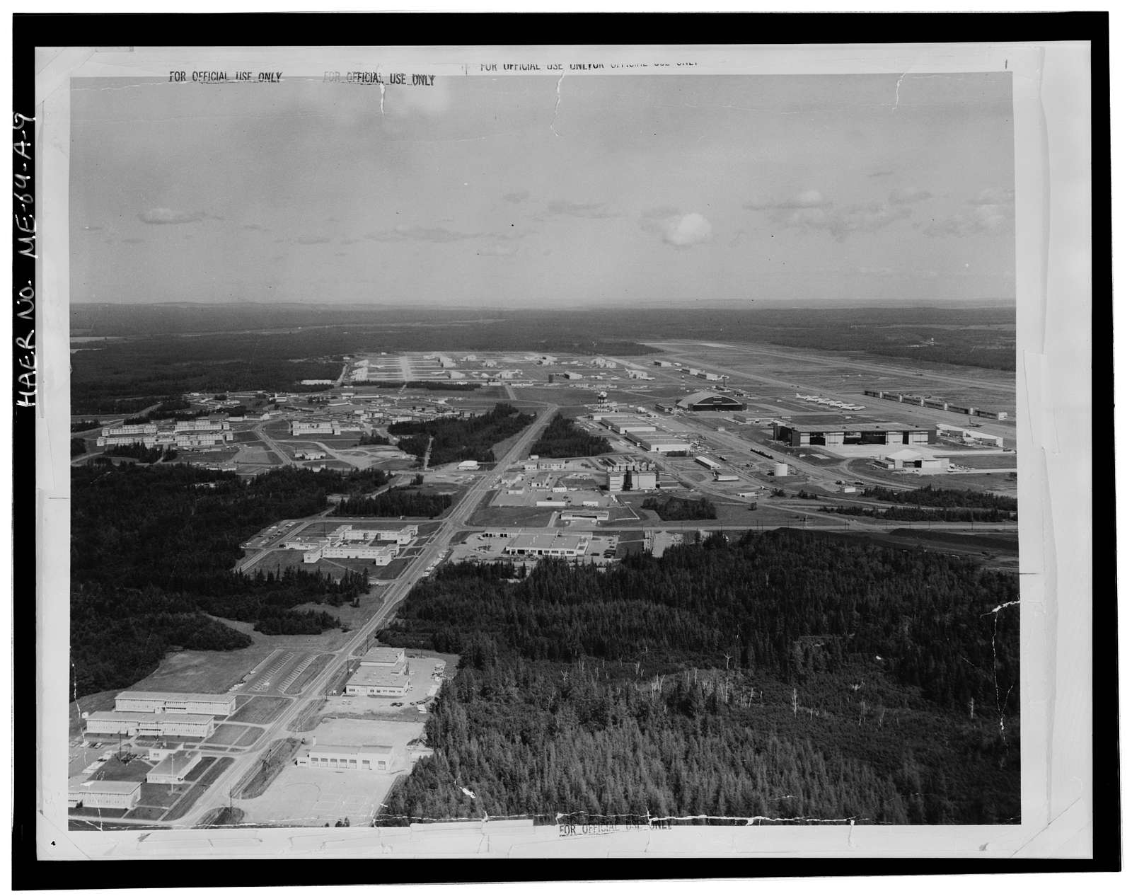 Loring Air Force Base, Airfield, Central portion of base, Limestone, Aroostook County, ME
