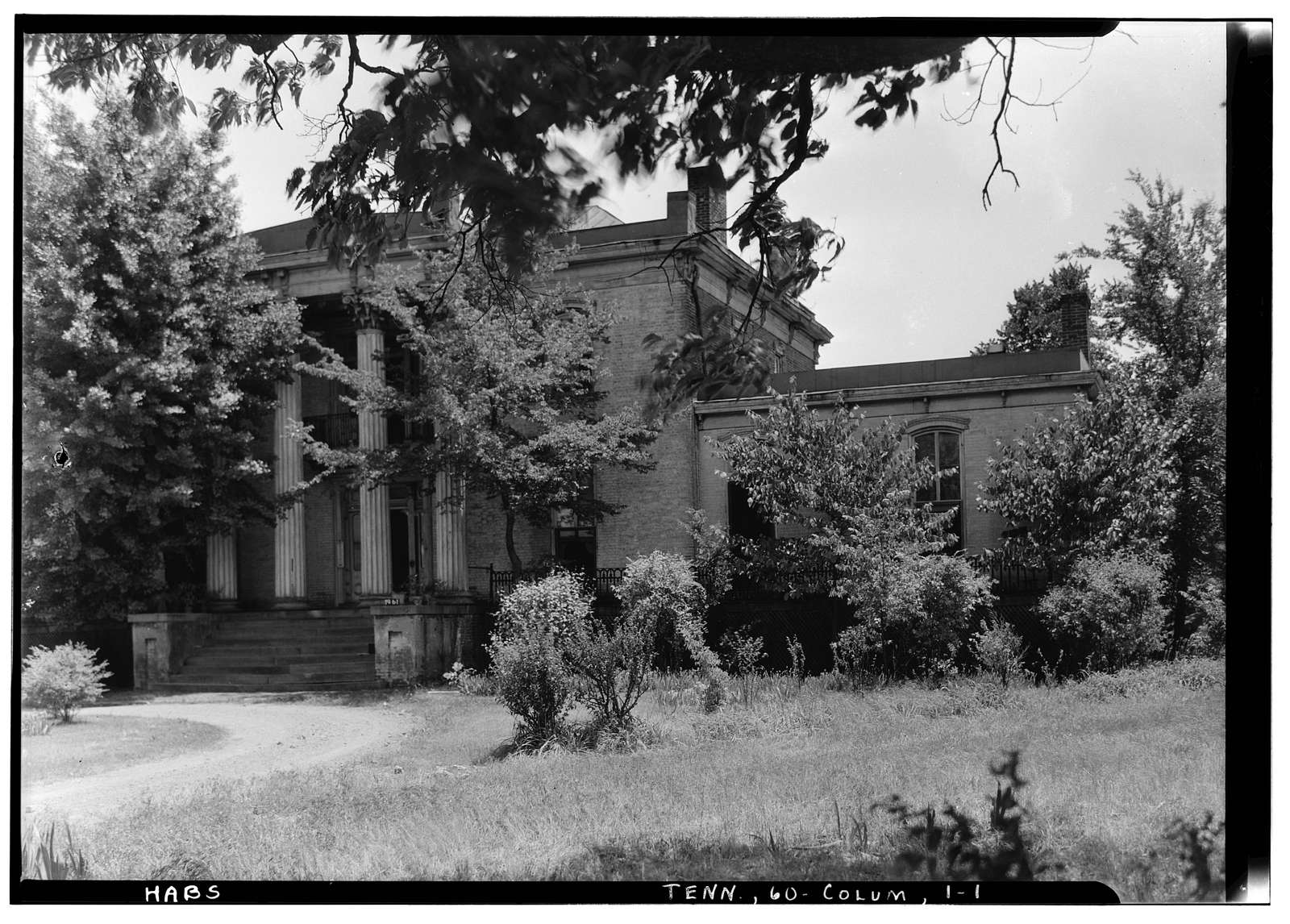 Mercer Hall, Columbia, Maury County, TN