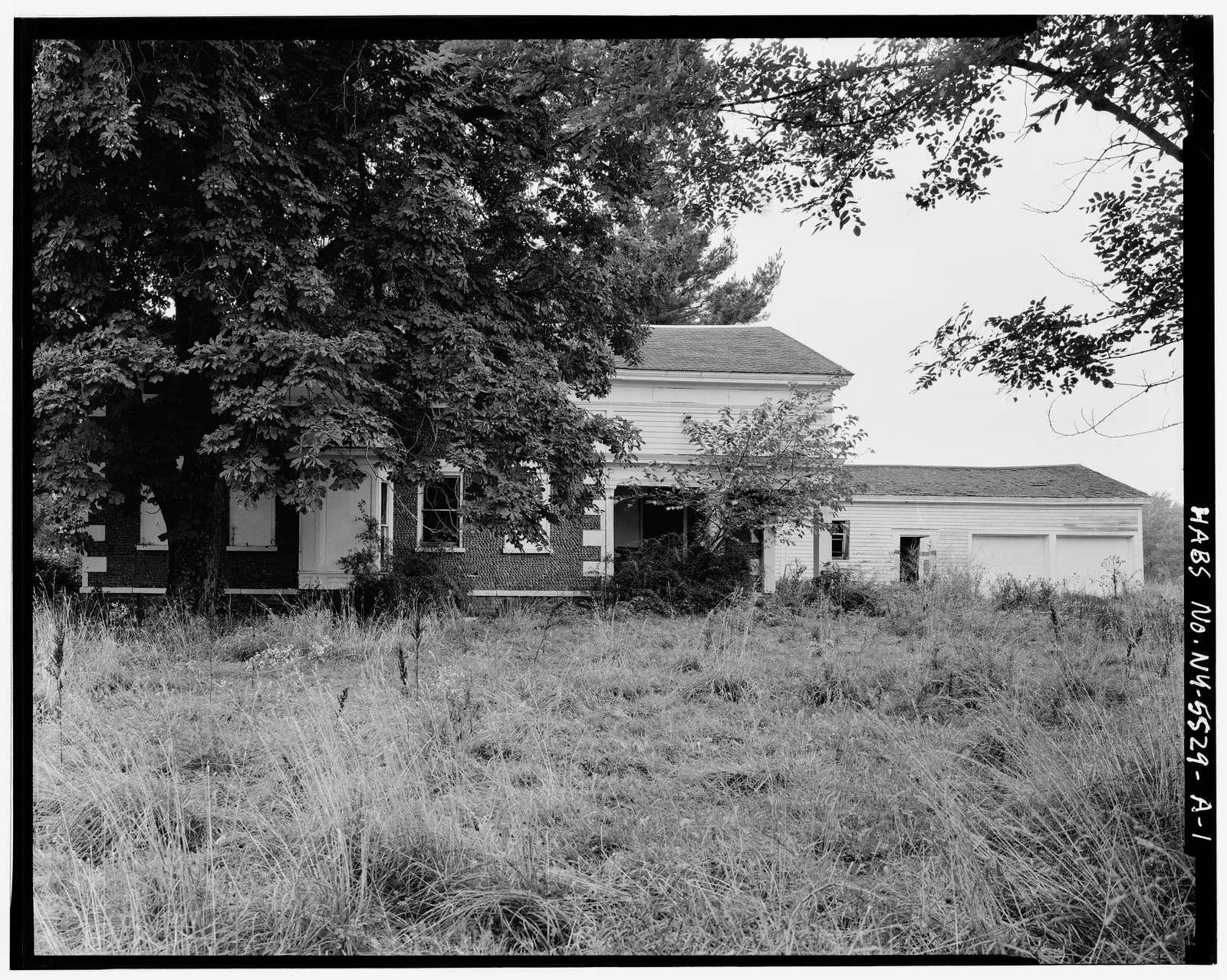 Morgan Van Wagoner House, Hosmer Road, Somerset, Niagara County, NY