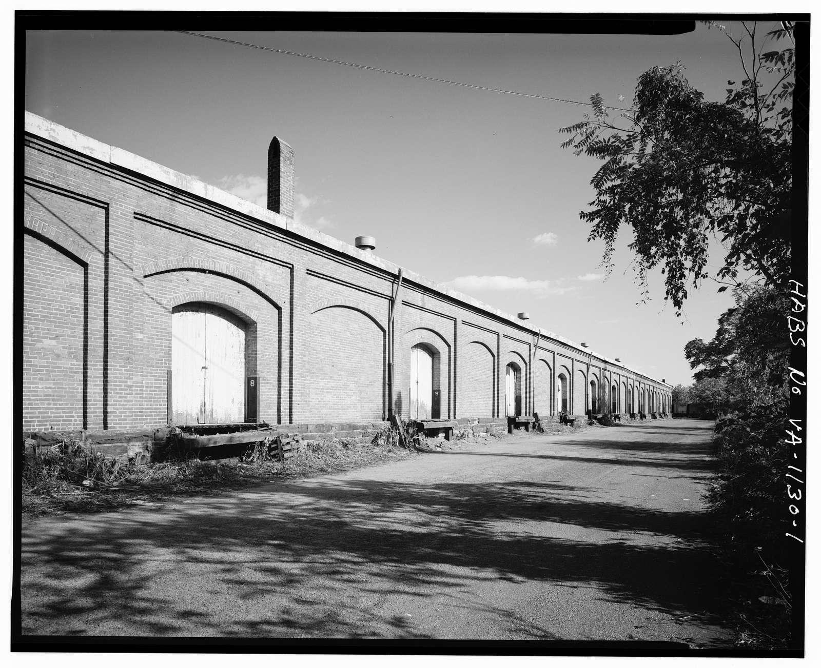 Norfolk & Western Freight Depot, Ninth & Eleventh Streets at bank of James River, Lynchburg, Lynchburg, VA
