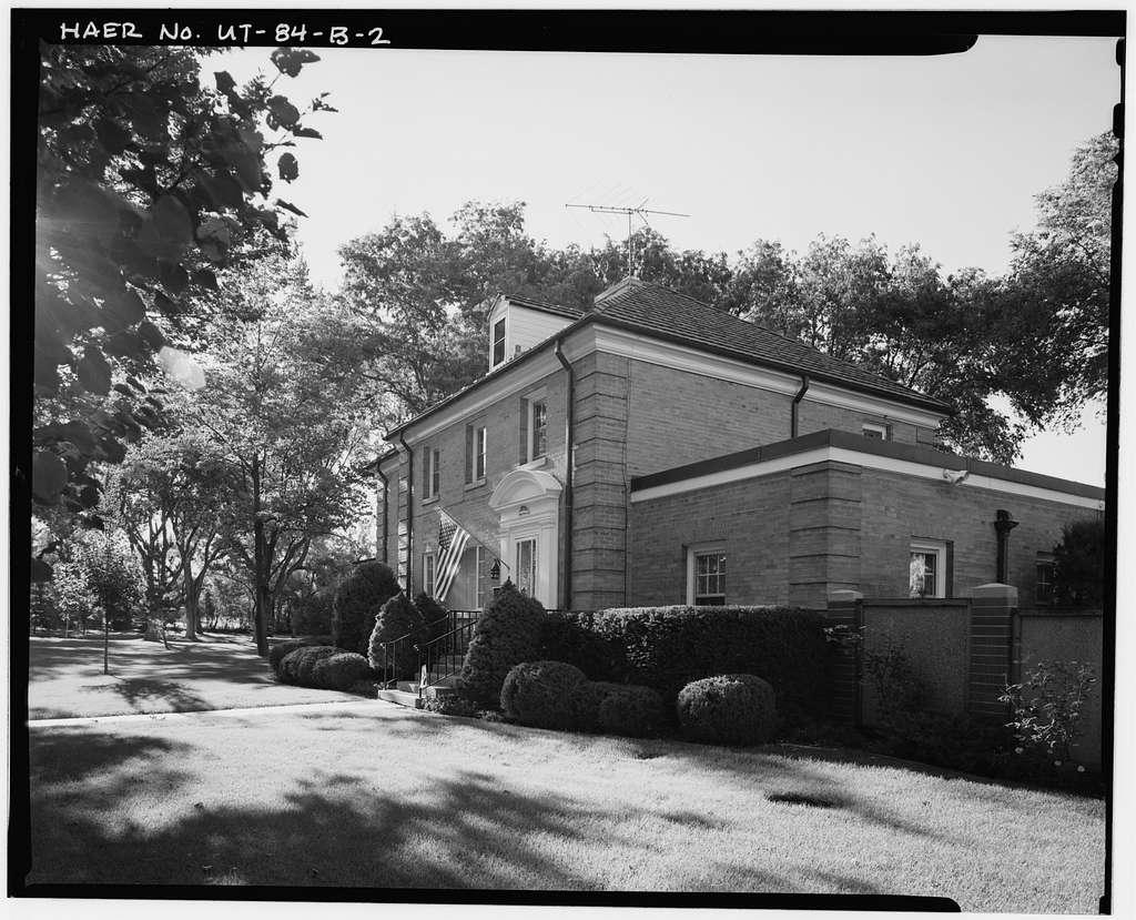 Ogden Arsenal, Officer's Family Housing, South side of Circle Drive, Layton, Davis County, UT