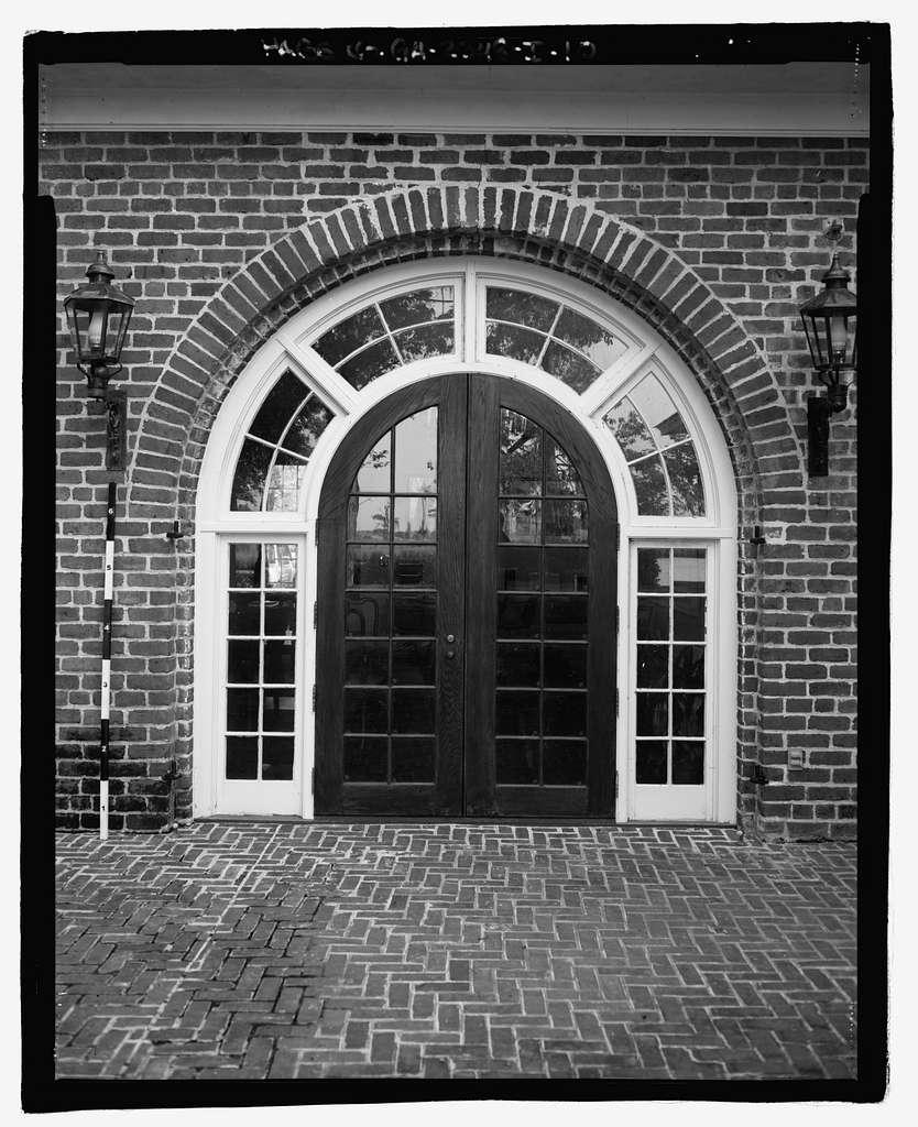Richmond Hill Plantation, Laboratory-Powerhouse & Chimney, East of Richmond Hill on Ford Neck Road, Richmond Hill, Bryan County, GA