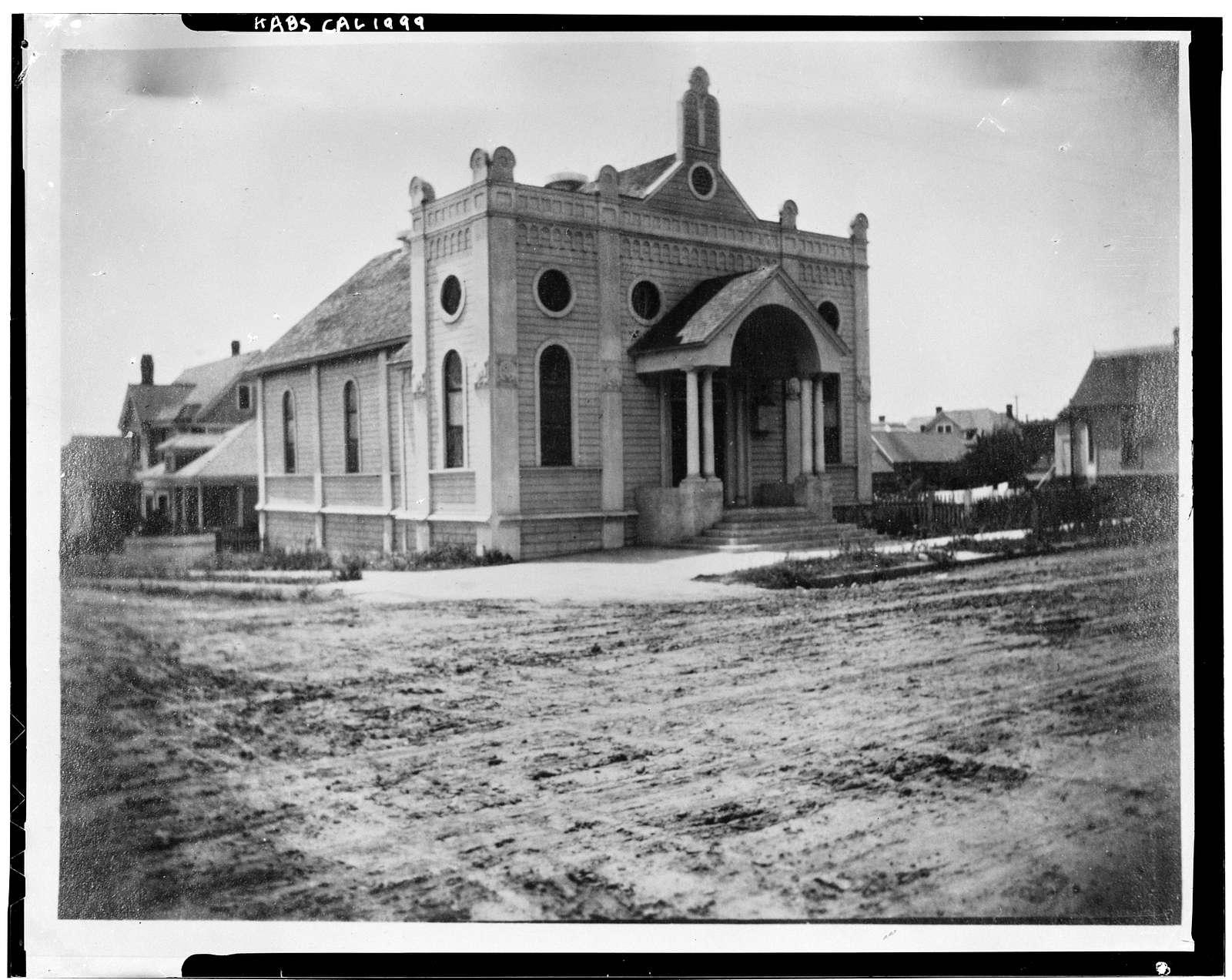 Temple Beth Israel, 1502 Second Avenue, San Diego, San Diego County, CA