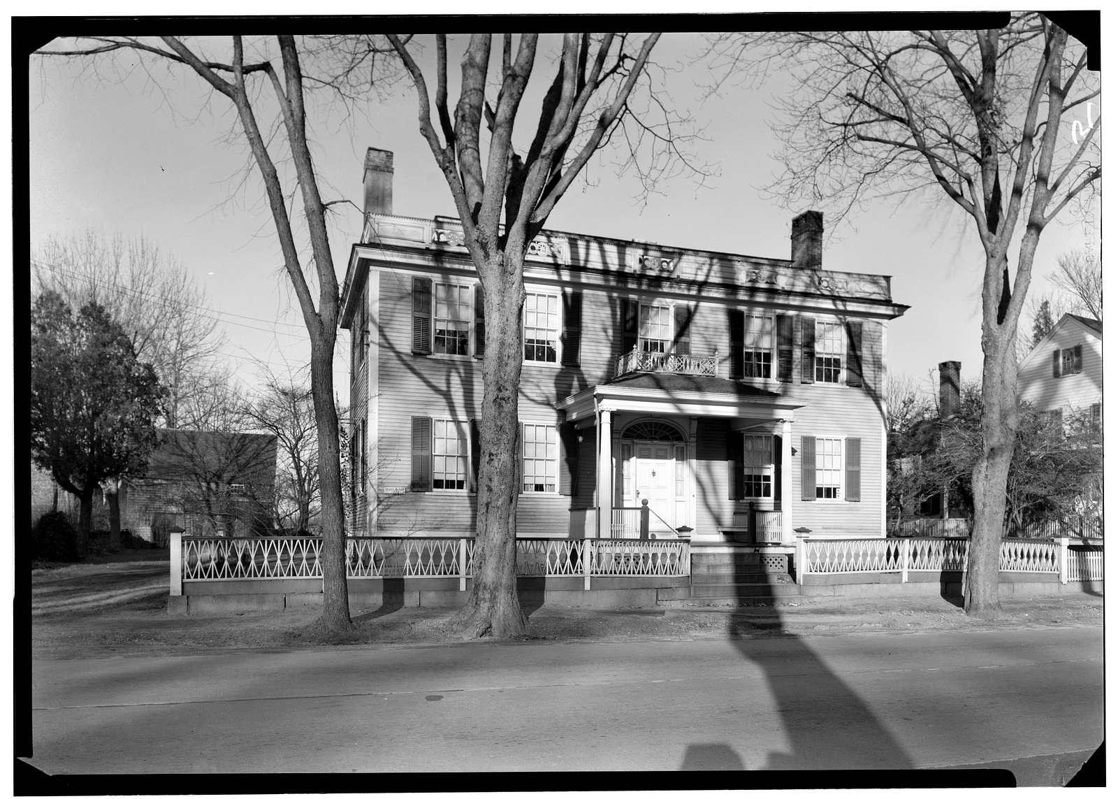 Thomas Stafford Taylor House, 1305 Kingstown Road (State Route 138), Kingston, Washington County, RI