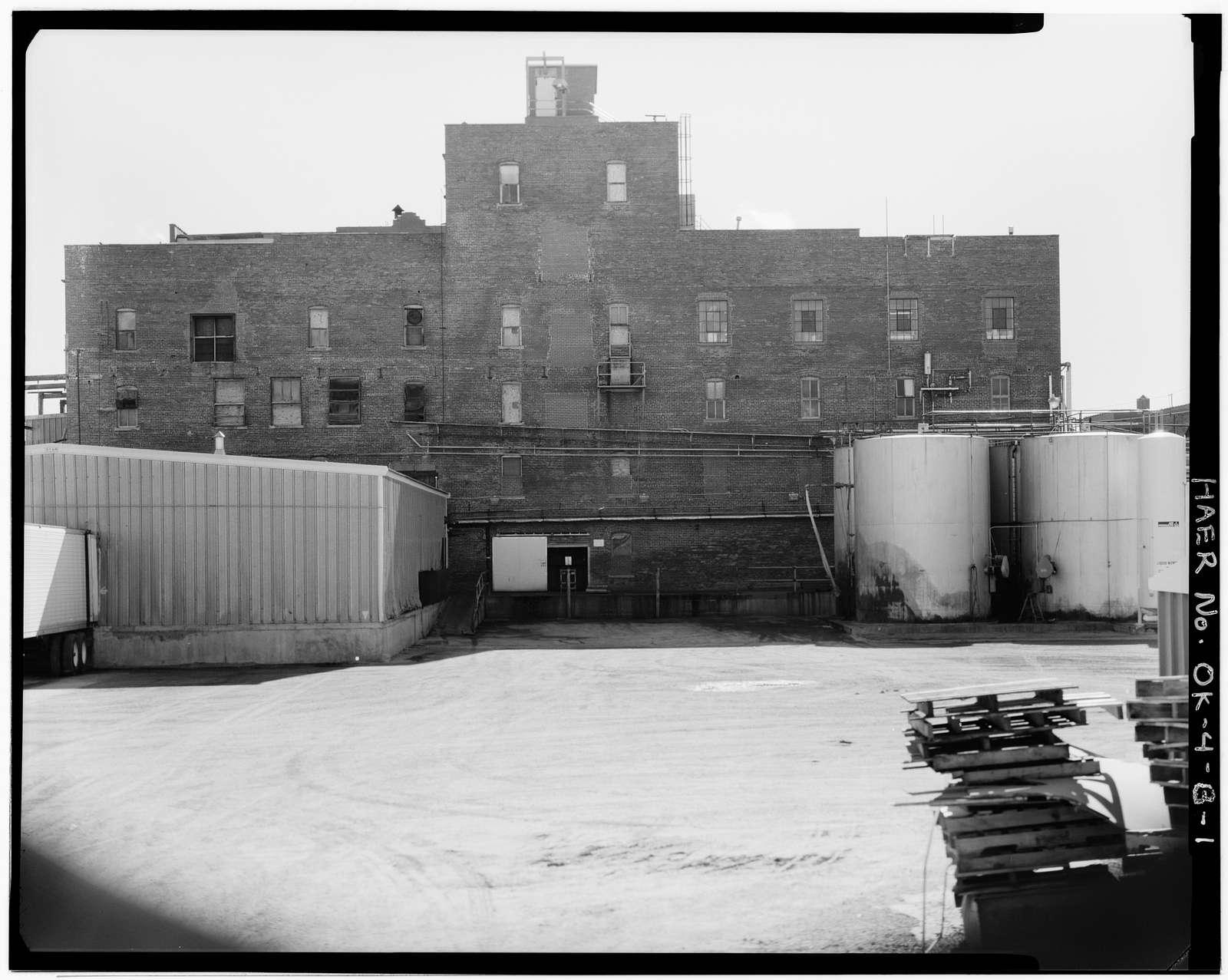 Wilson's Oil House, Lard Refinery, & Edible Fats Factory, Oil House, 2801 Southwest Fifteenth Street, Oklahoma City, Oklahoma County, OK