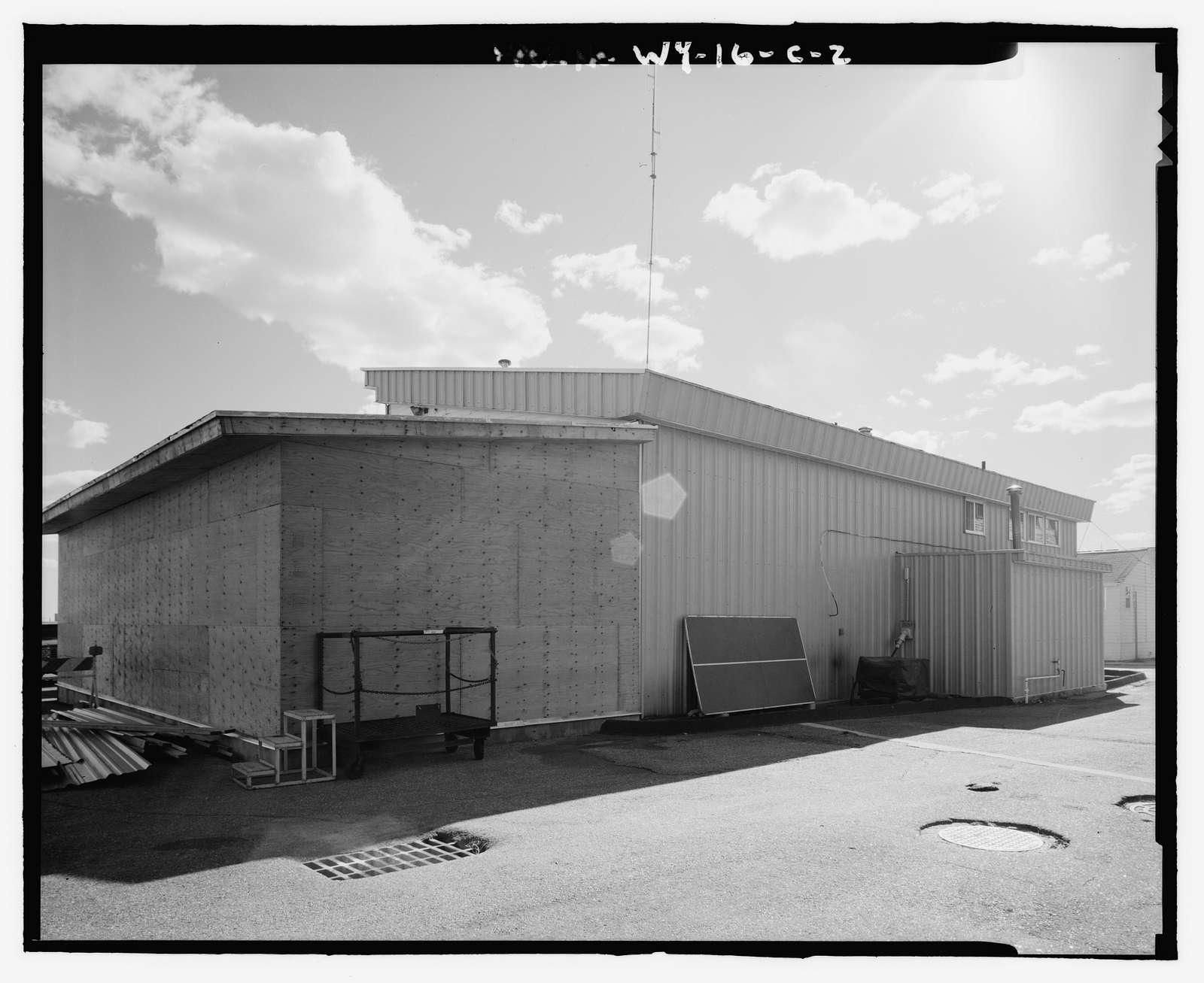 Wyoming Air National Guard Base, Nose Hangar, Cheyenne Airport, Cheyenne, Laramie County, WY
