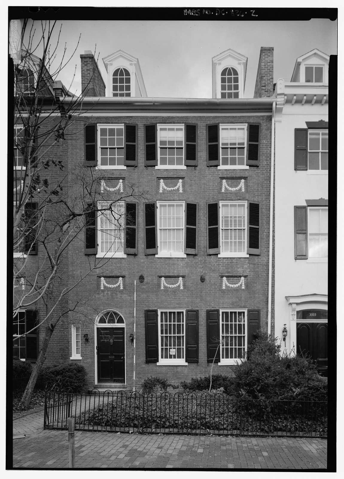 3337 N Street, Northwest (House), Washington, District of Columbia, DC
