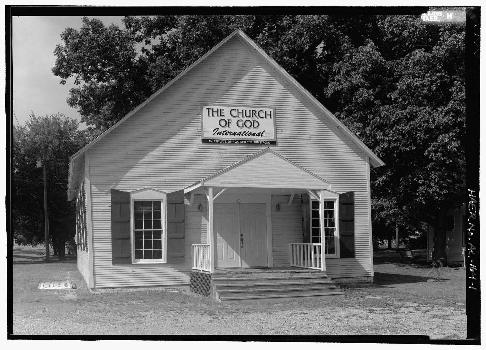 601 Humes Avenue (House), 601 Humes Avenue, Huntsville, Madison County, AL